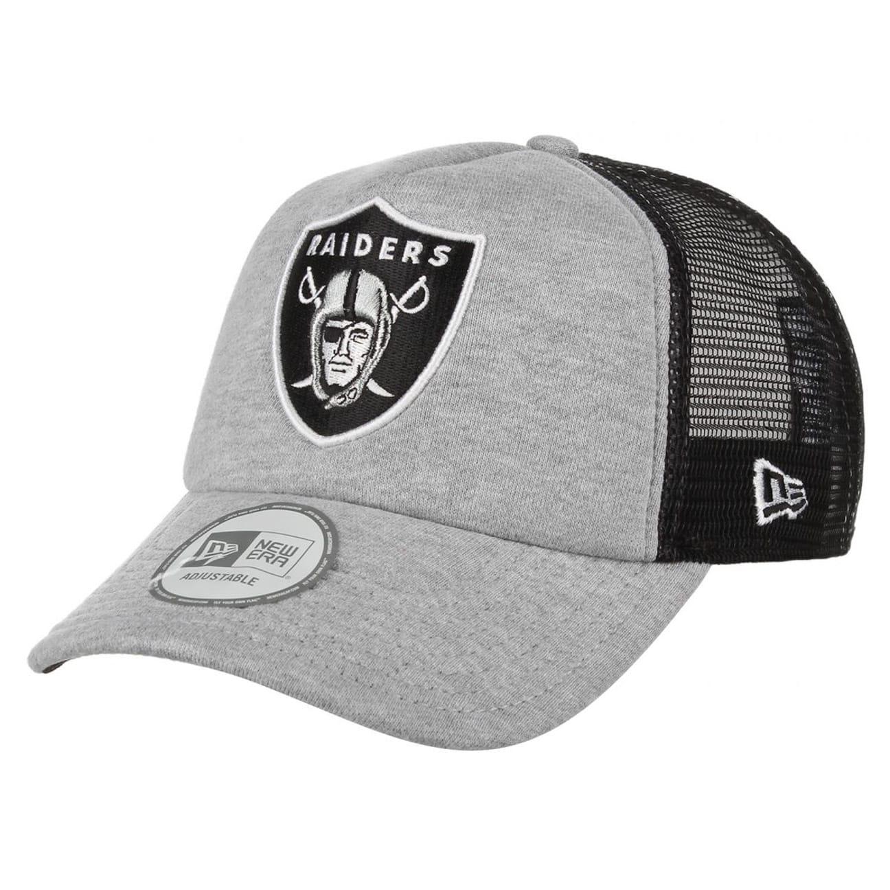 8ac278f4b2abc Oakland Raiders Trucker Cap by New Era - black 1