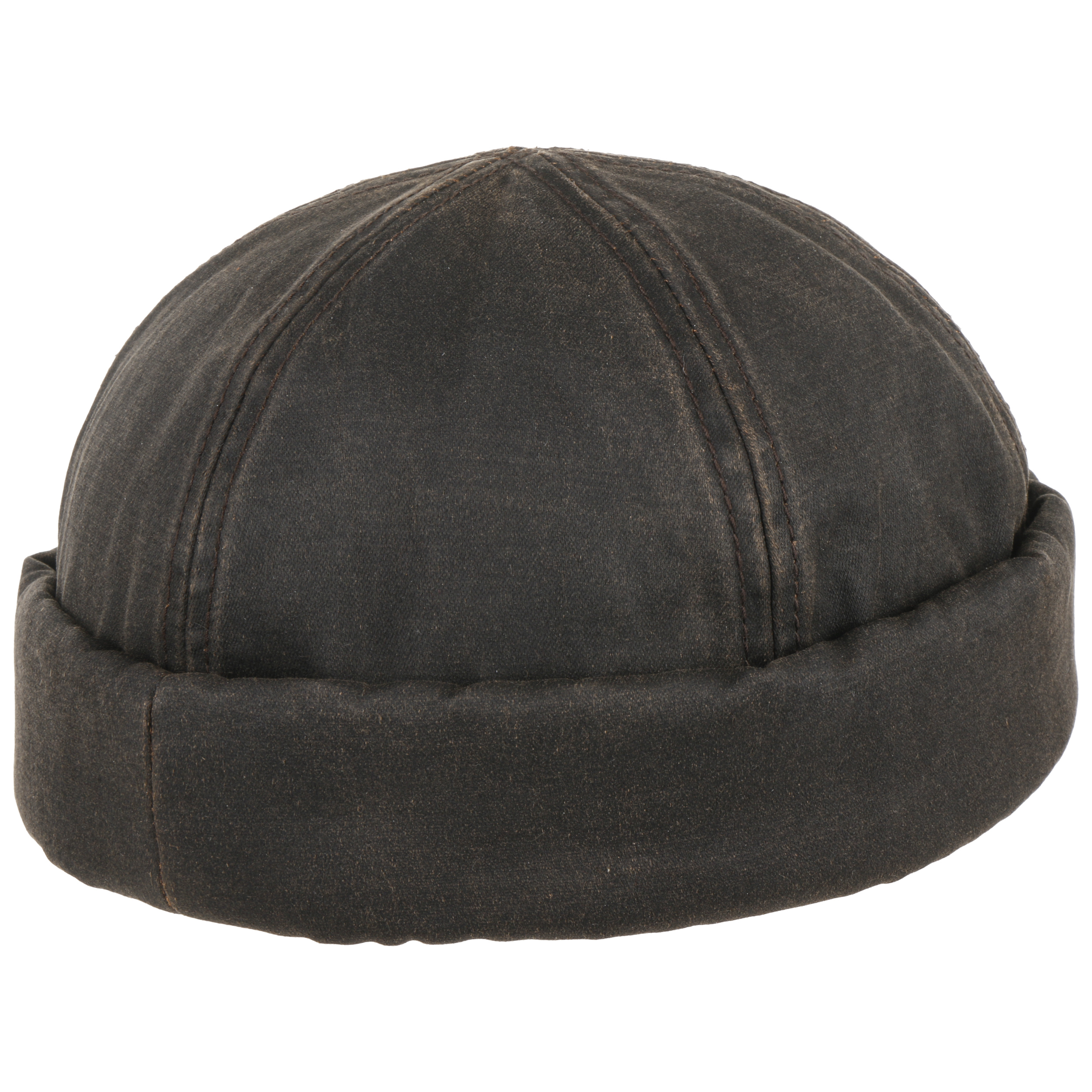 7feedbcd112 ... Old Cotton Docker Hat by Stetson - brown 3 ...