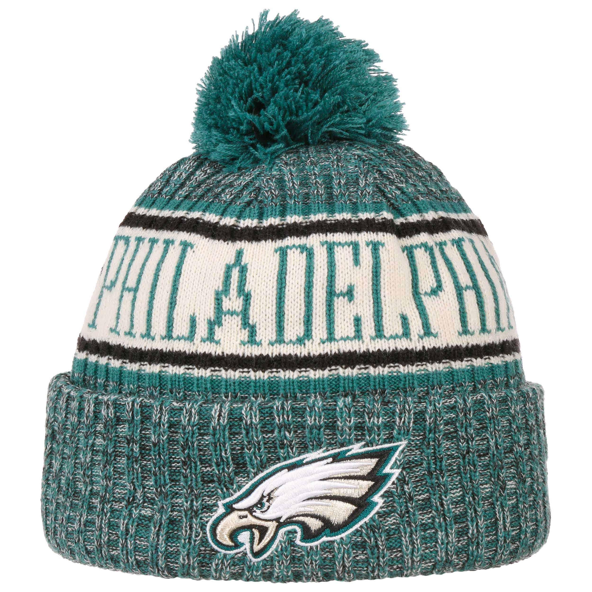 f735bb3e5053a On-Field 18 Eagles Beanie Hat. by New Era