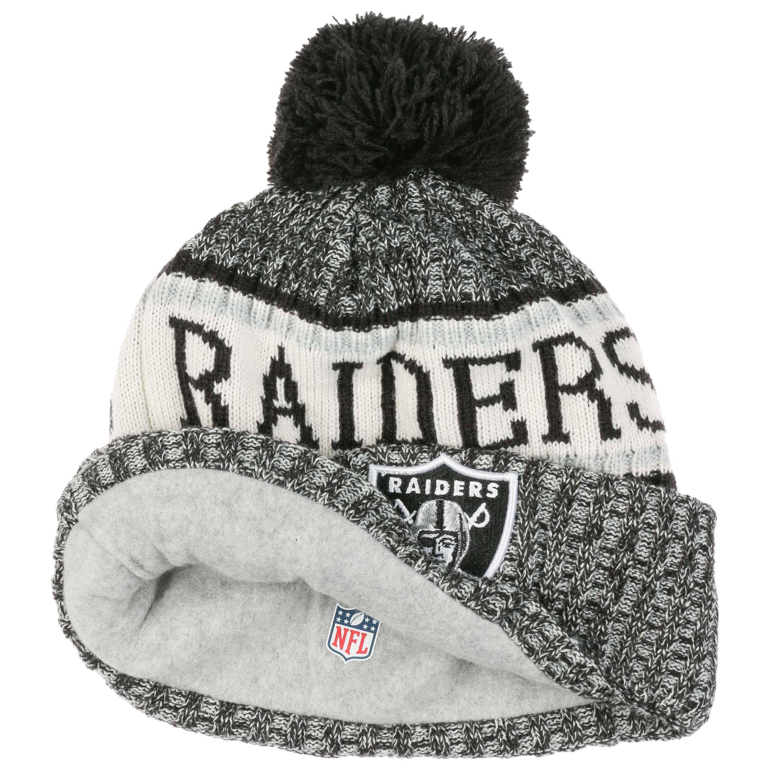 1c1d1966b742e On-Field 18 Raiders Beanie Hat by New Era - black 1 ...