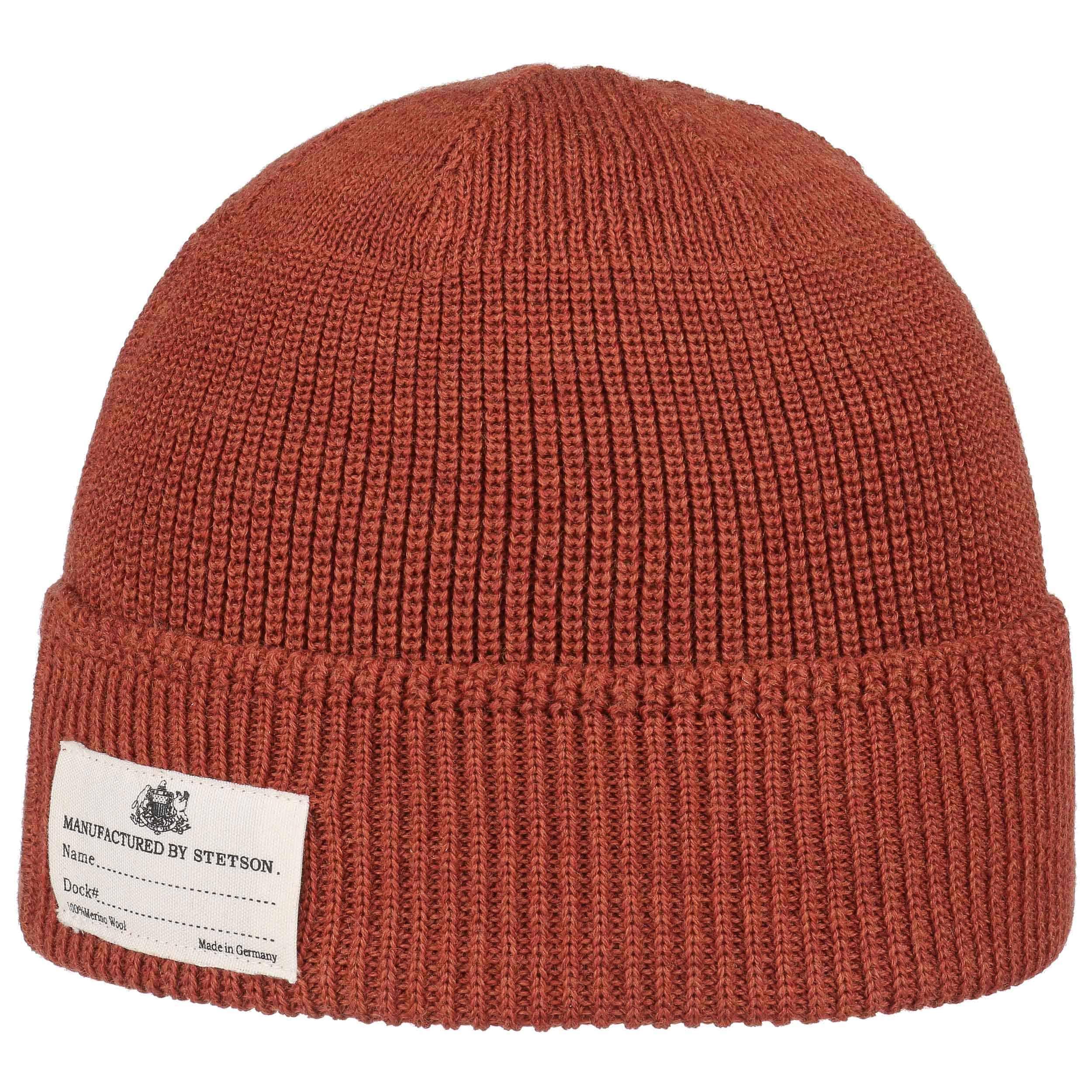 2f14df7c519 ... black 1 · Onalaska Knit Hat with Cuff by Stetson - orange 3