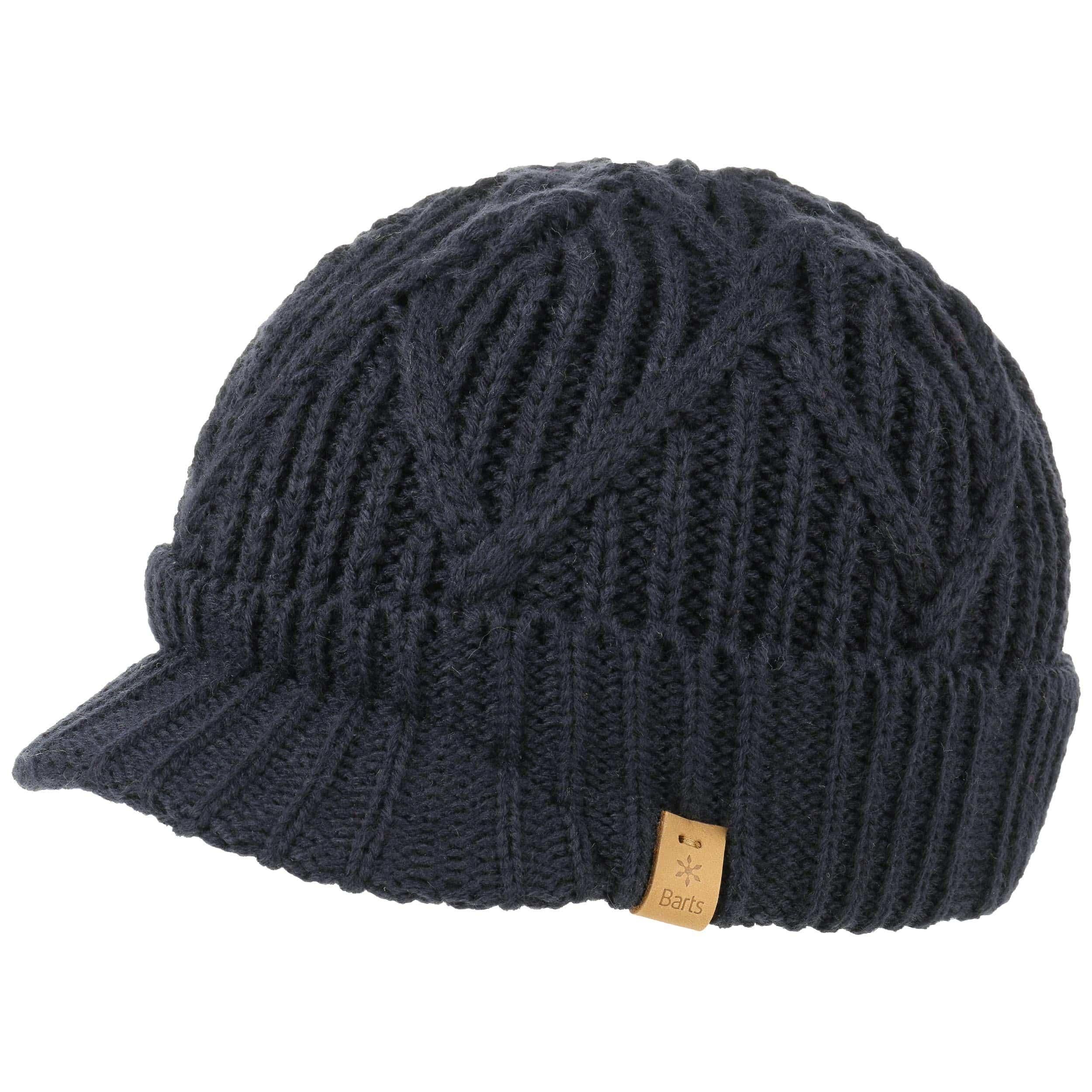 b860675bbed ... Oscar Peak Pull On Knit Hat by Barts - blue 4