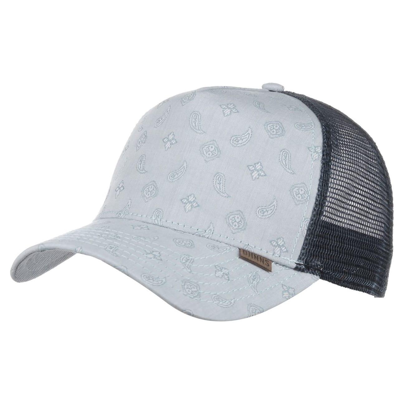 oxford paisley trucker cap by djinns gbp 19 95 hats. Black Bedroom Furniture Sets. Home Design Ideas