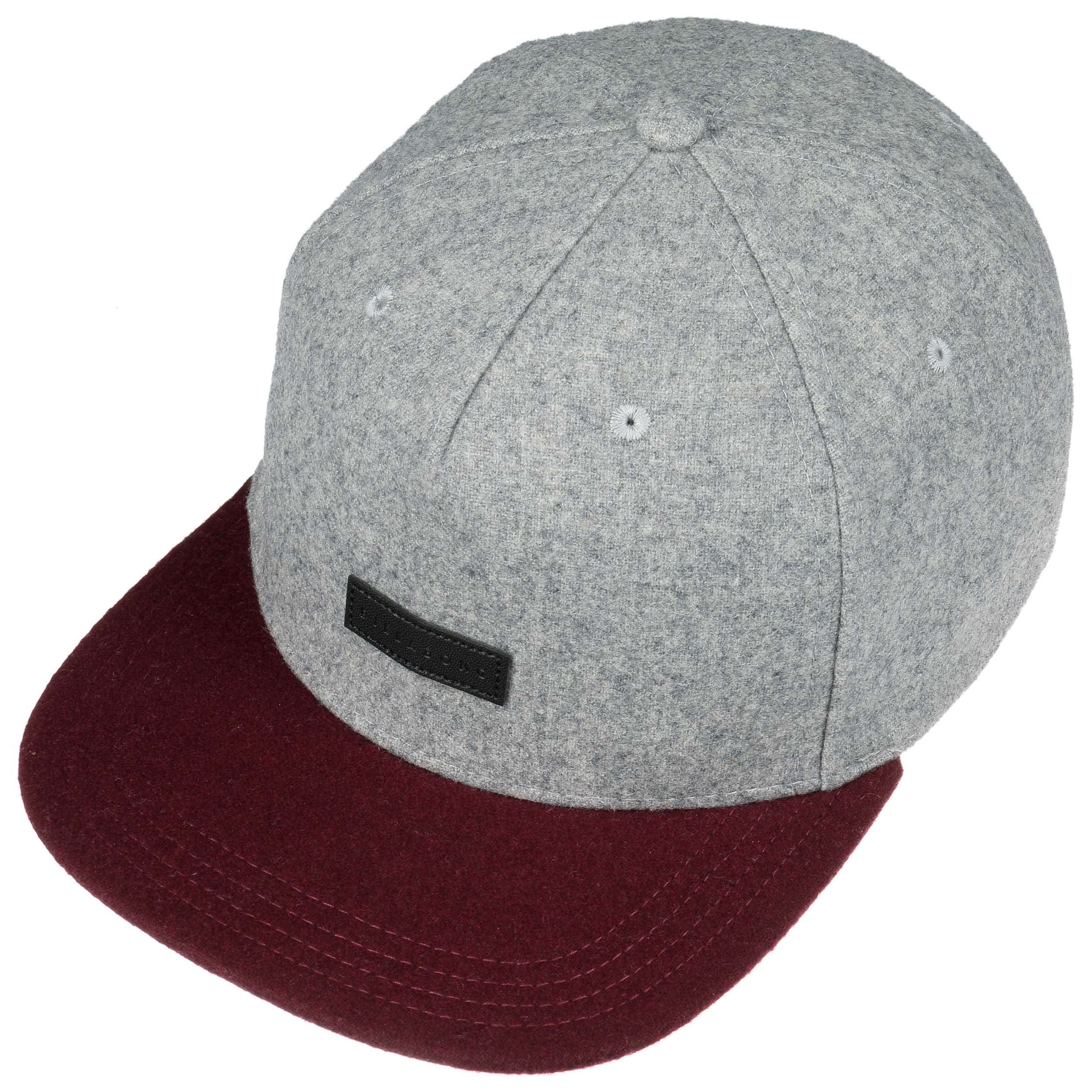 ... Oxford Snapback Cap by Billabong - silber 1 ... b43ca0b641dc