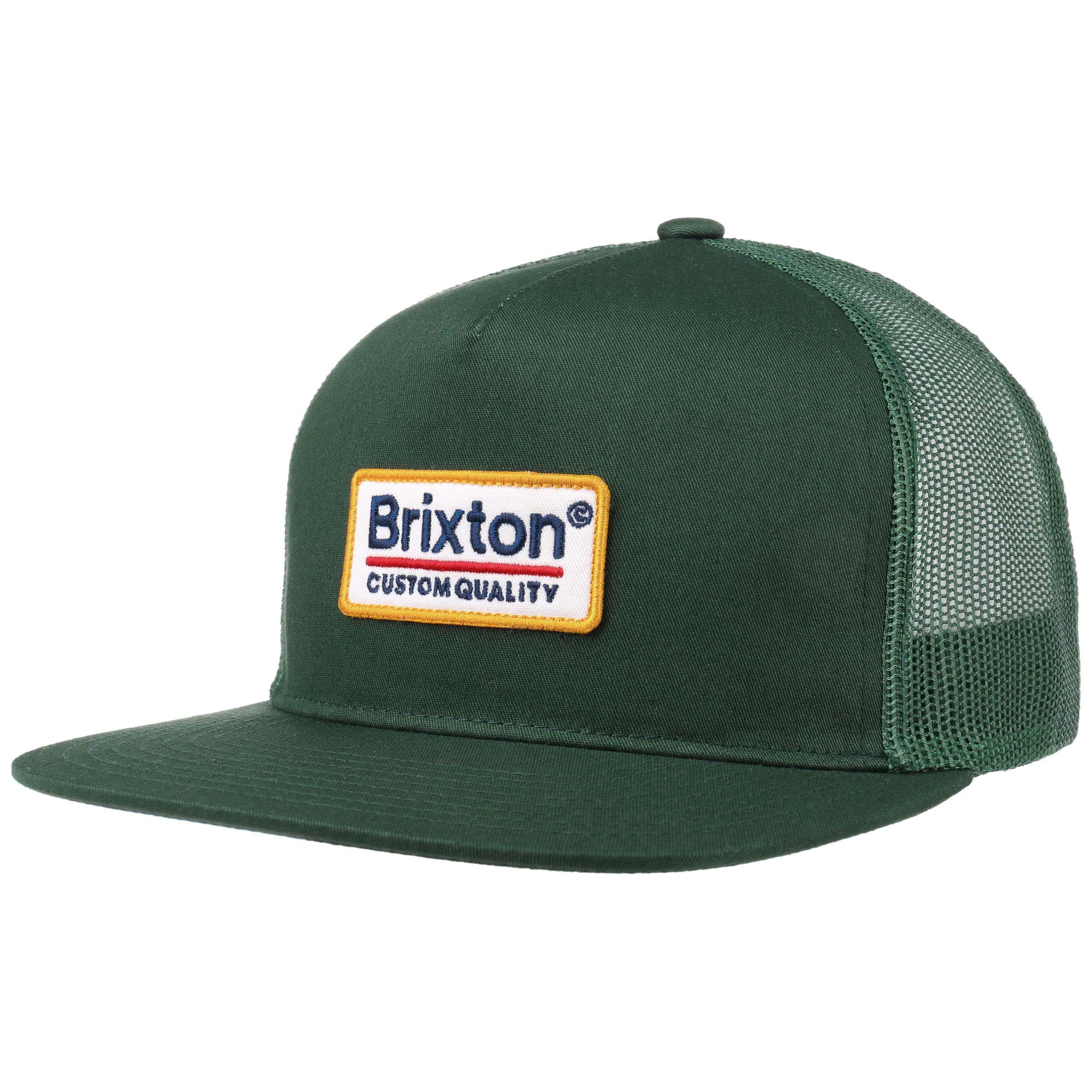 0e7a25d78f7 ... Palmer Mesh Cap by Brixton - dark green 6 ...