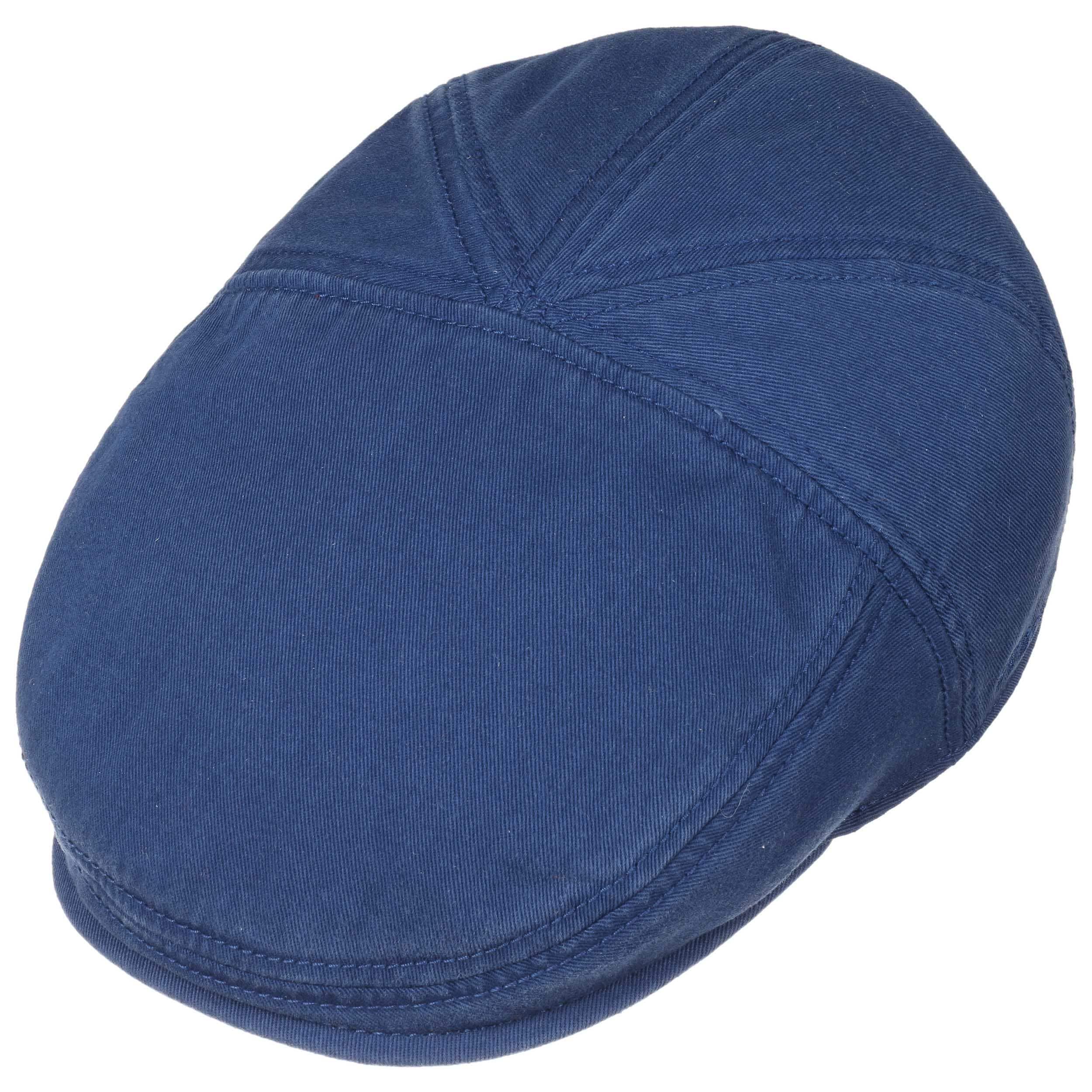 6f87446b ... Paradise Cotton Flat Cap by Stetson - royal-blue 1 ...