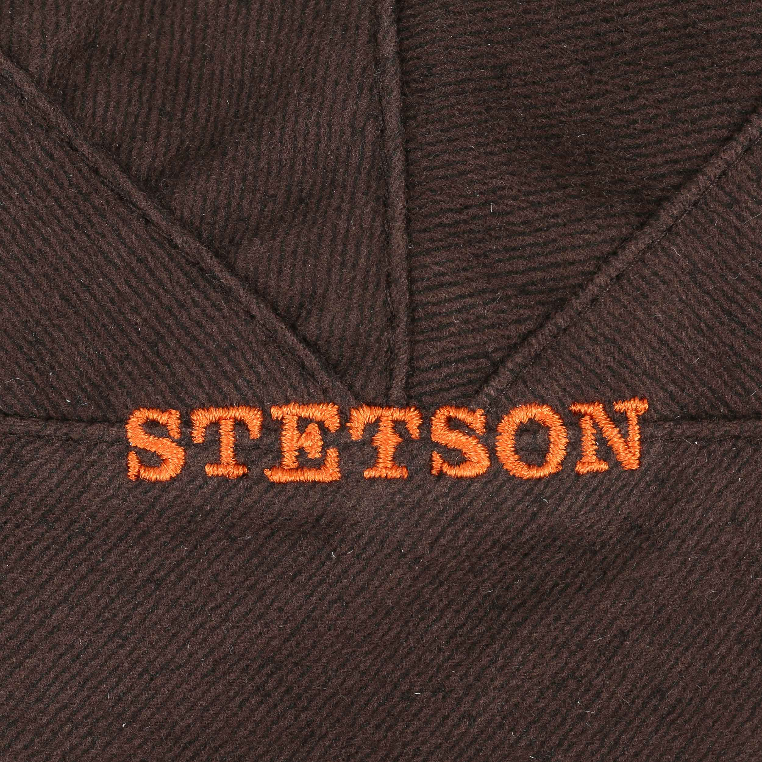 ... Paradise Wool Flat Cap by Stetson - blue 5 ... ca4107ceb27c
