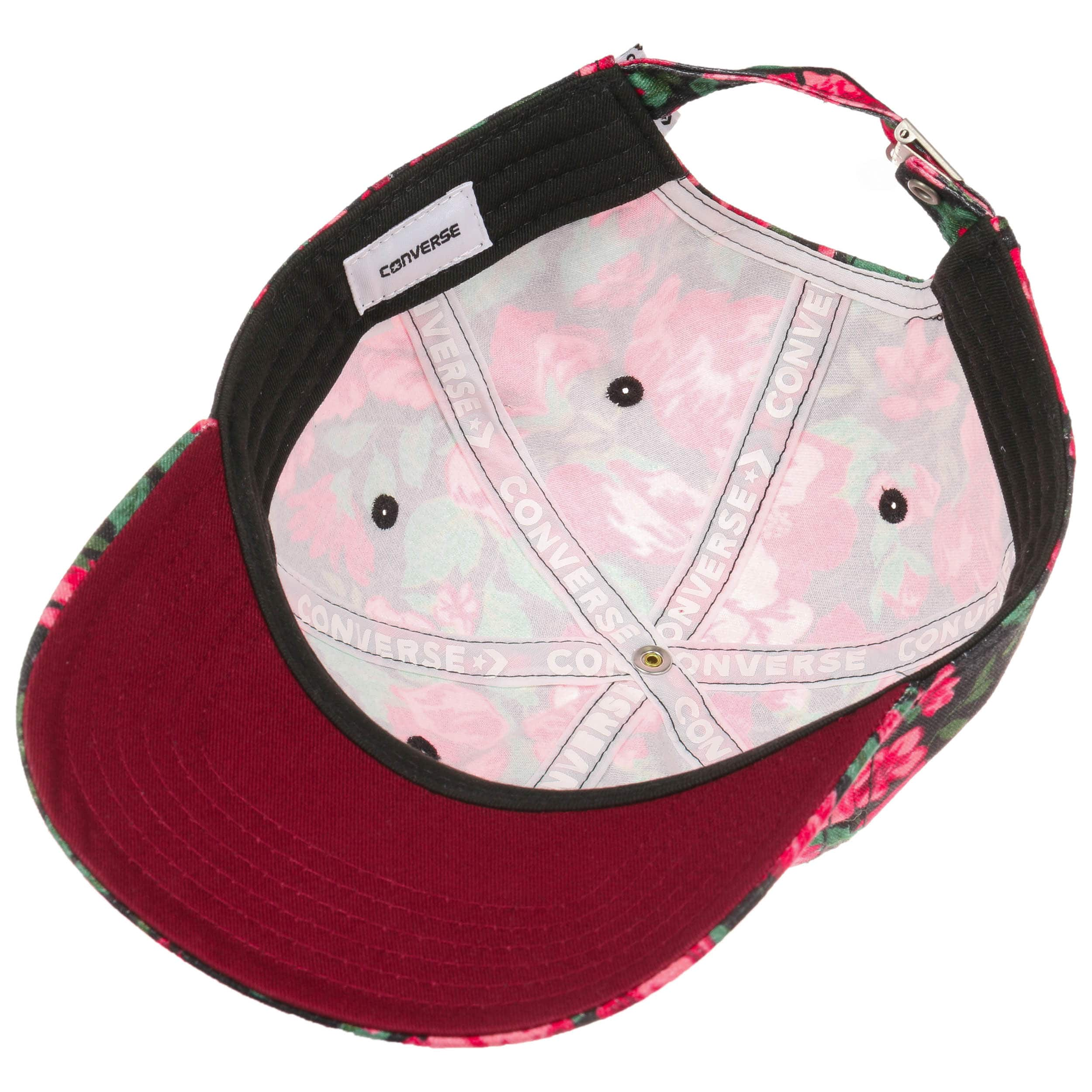 7ef3b6d4 ... Parkway Floral Cap by Converse - red 2 ...