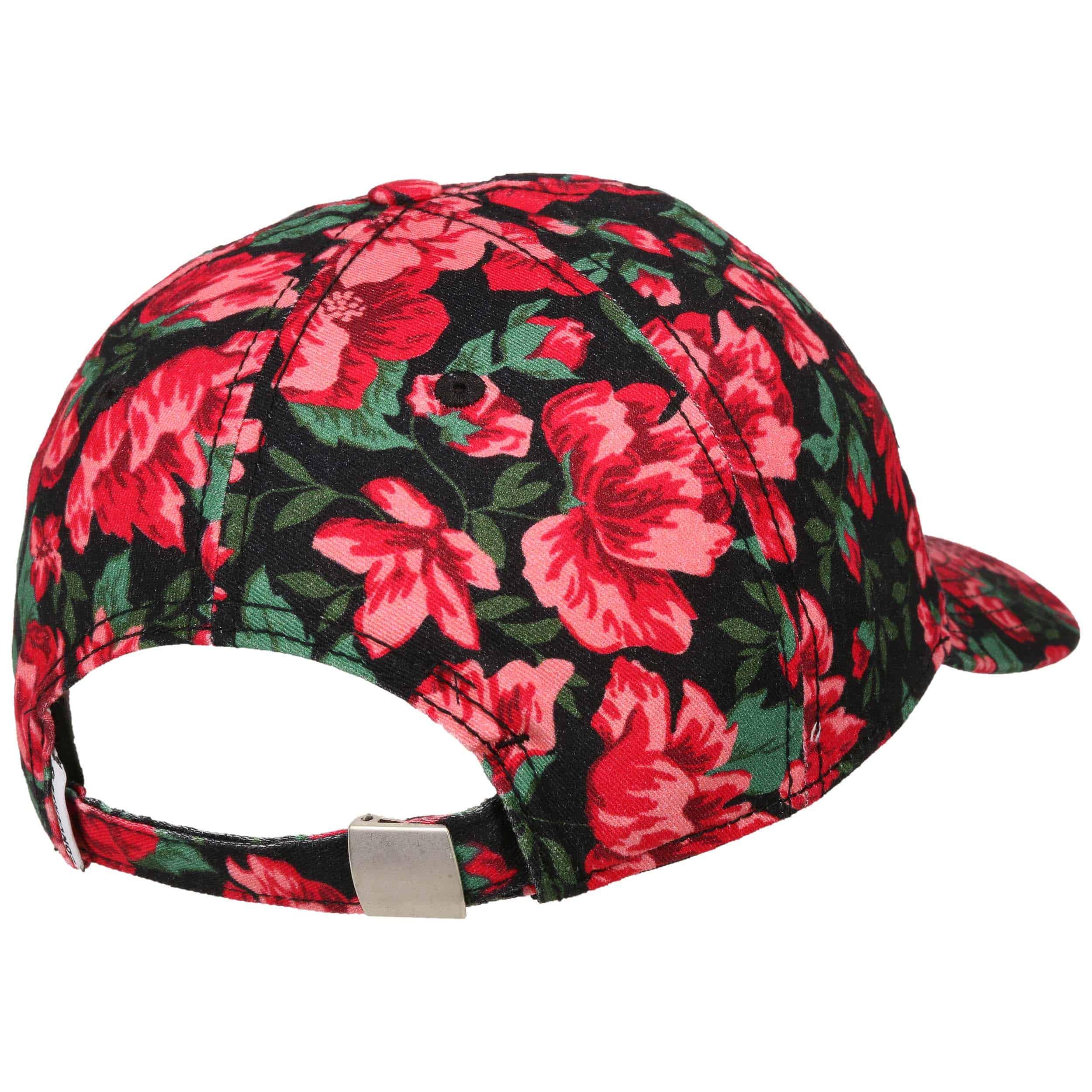 122de500 ... Parkway Floral Cap by Converse - red 3 ...