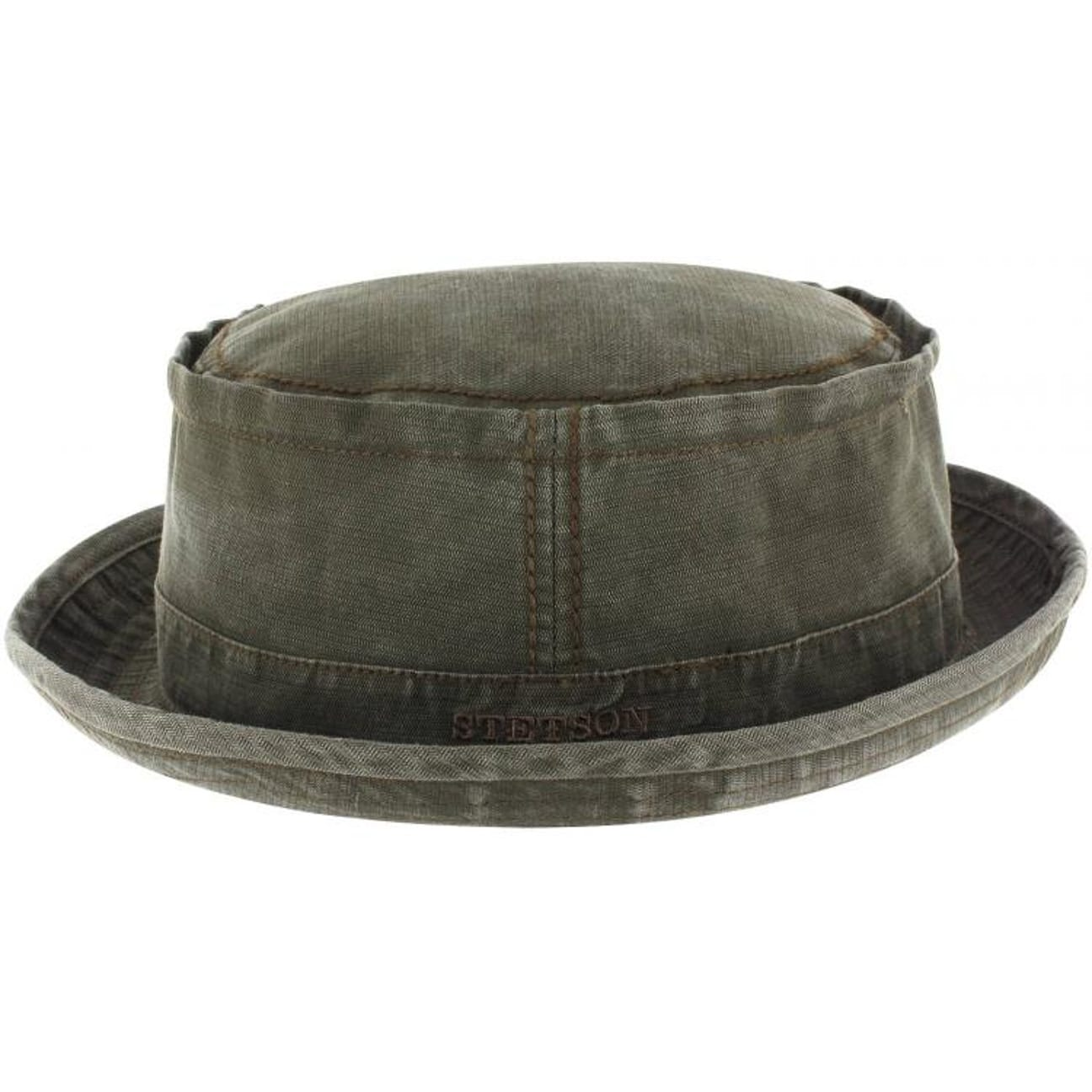 ... Payette Cloth Hat Player by Stetson - olive 1 ... 1a3de2395ad