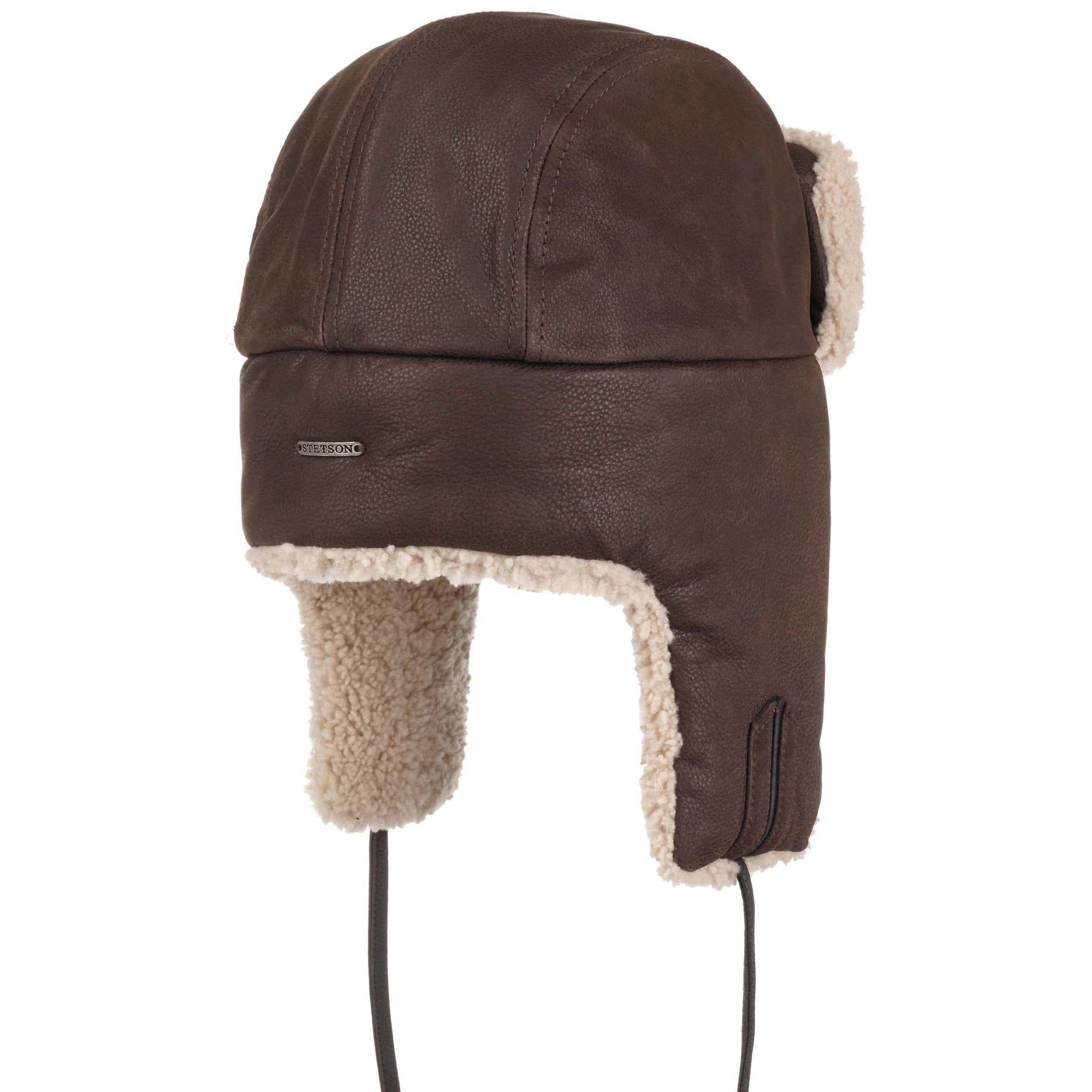 ... Payson Chevrette Aviator Hat by Stetson - brown 3 ... b27aebdc312