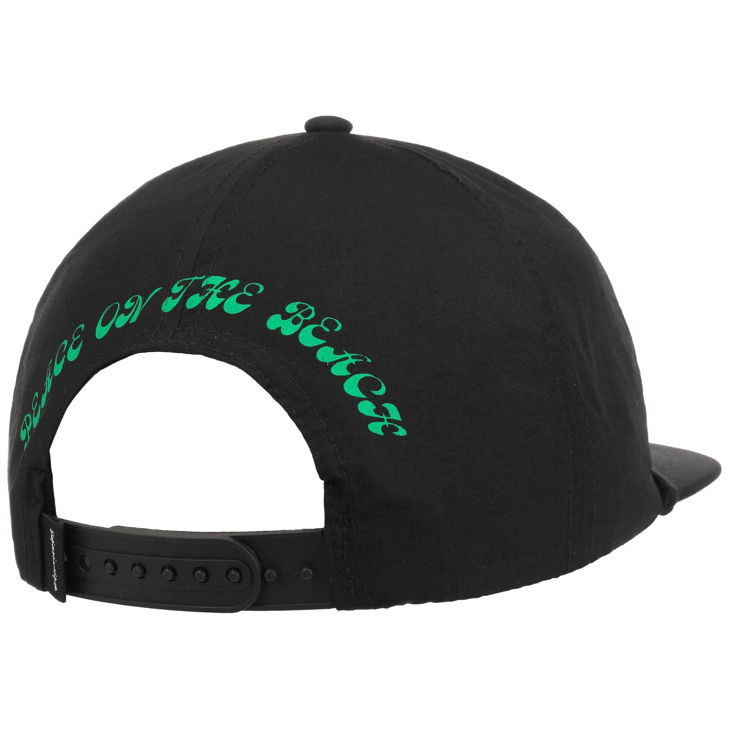 d1dedb65d9771 ... Peace On The Beach Cap by Quiksilver - black 3 ...