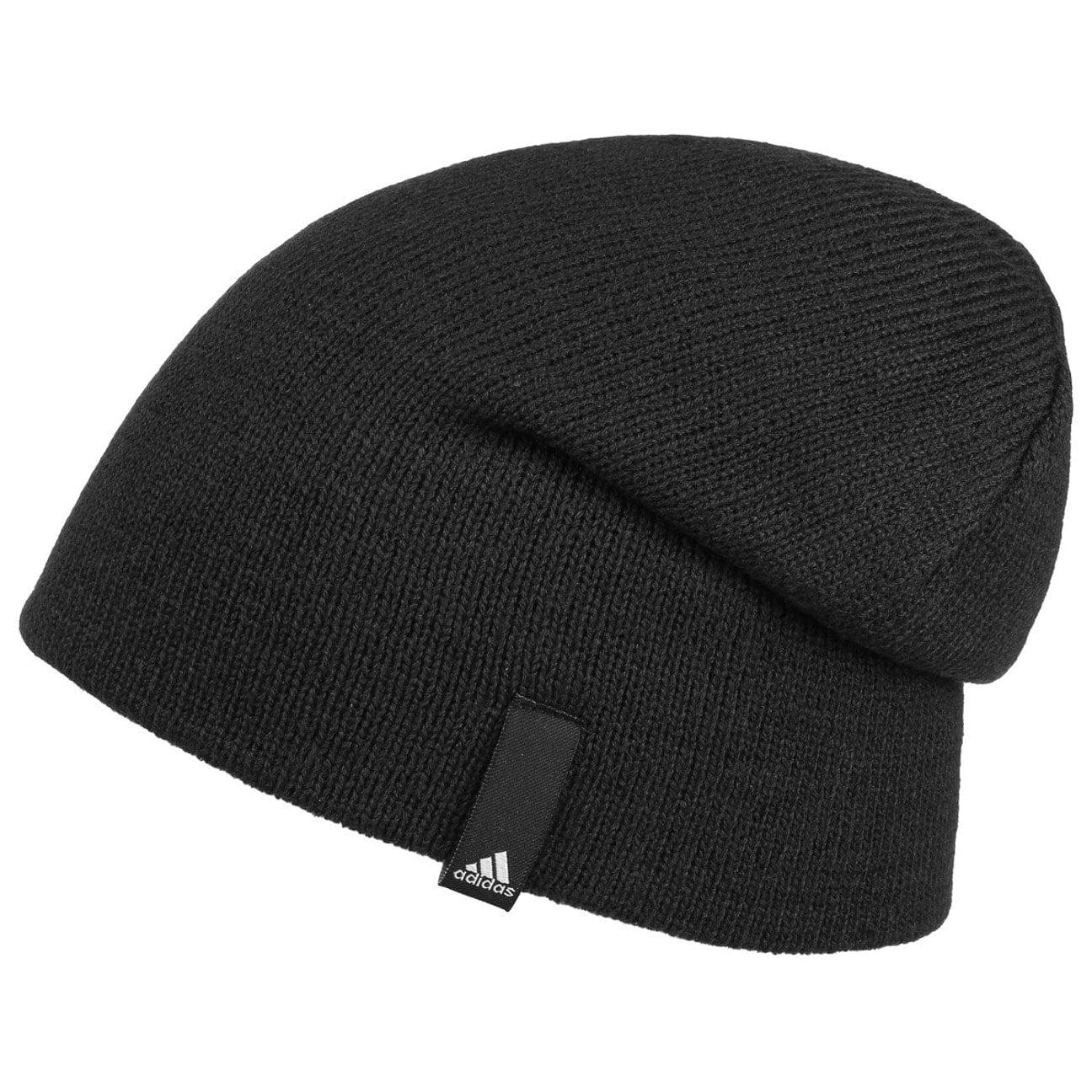 ... Perf Beanie by adidas - black 3 ... 8ee1eab0ed2