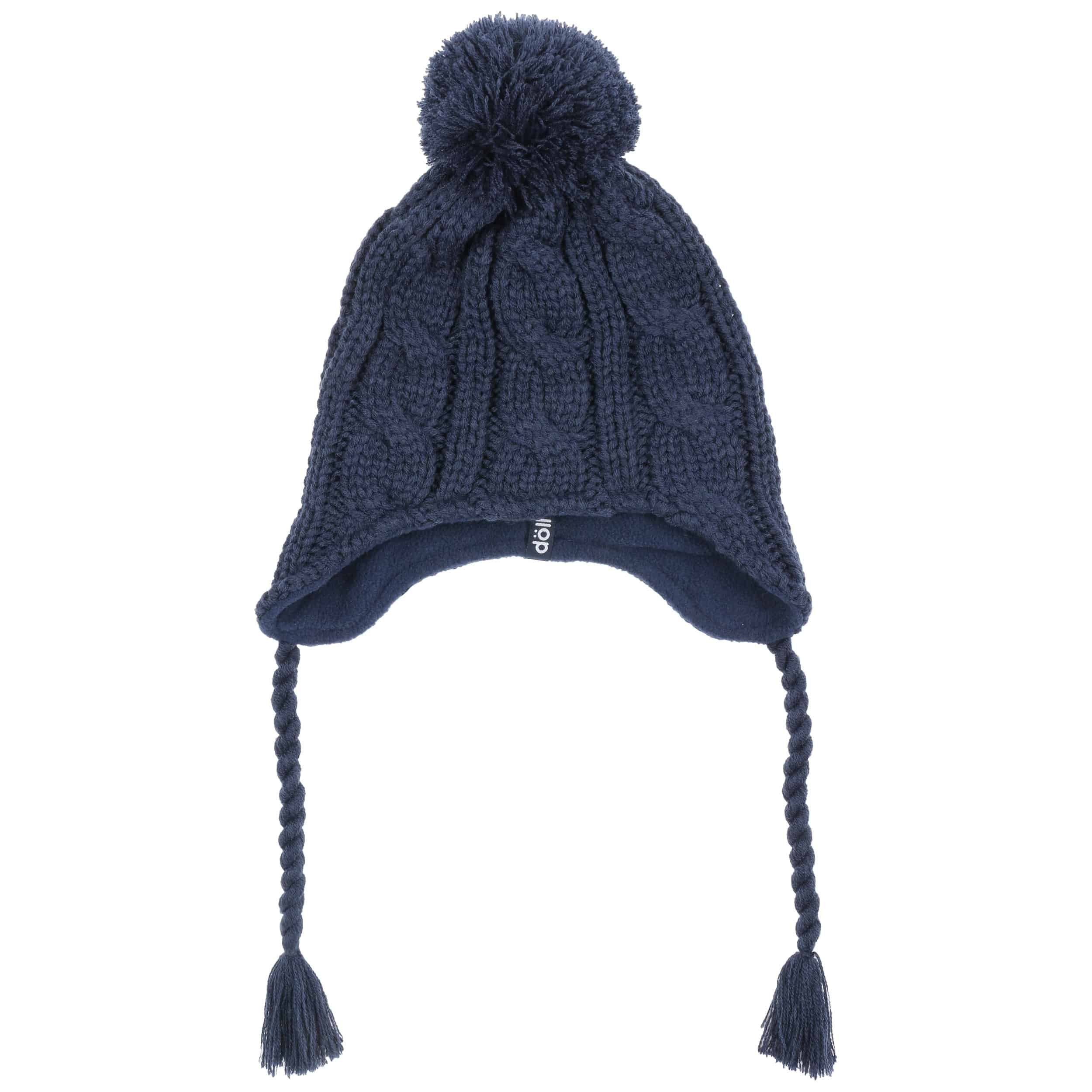 7cb00e2ca05 ... Peruvian Cable Knit Hat by Döll - navy 1 ...