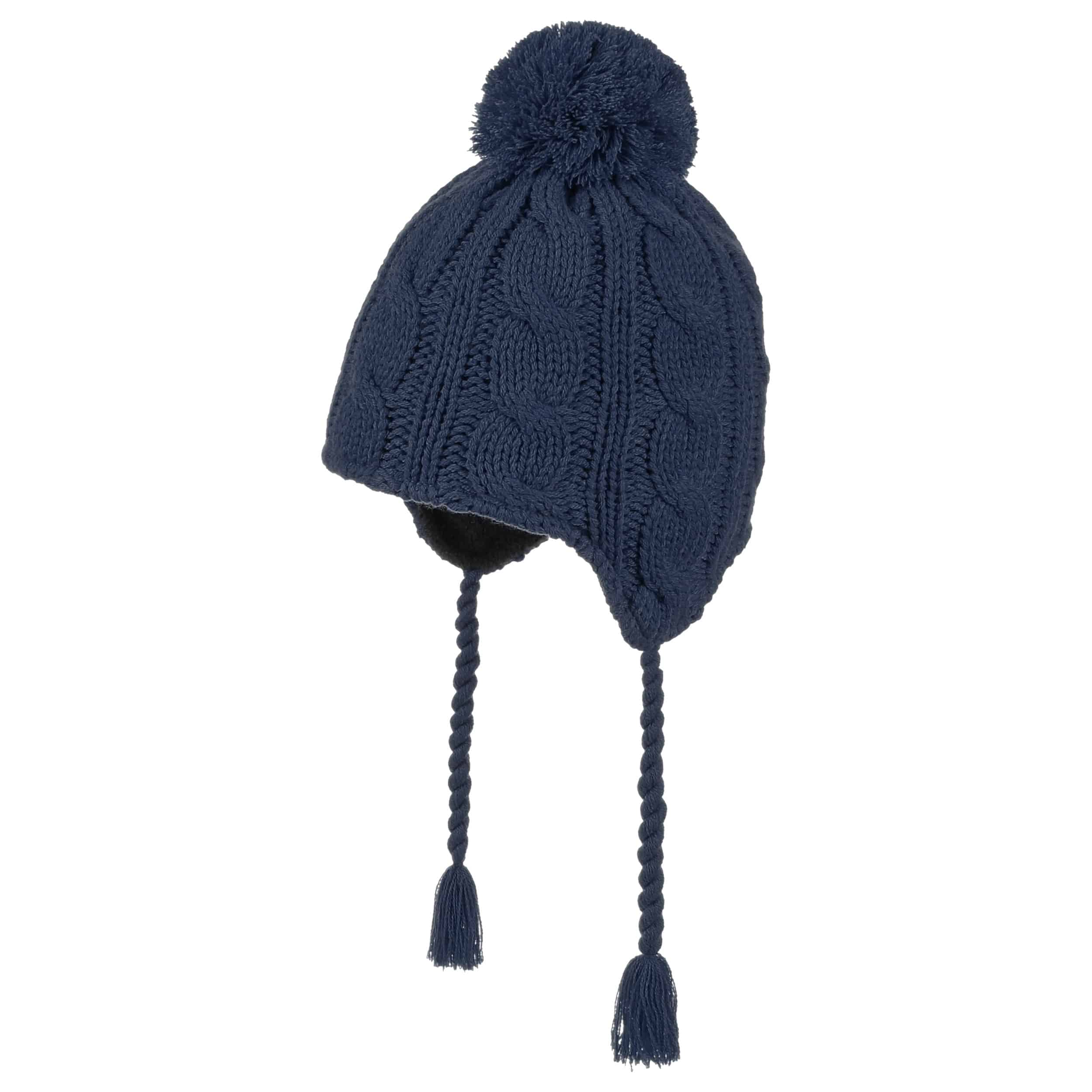 8d2330ff266 ... Peruvian Cable Knit Hat by Döll - navy 3 ...