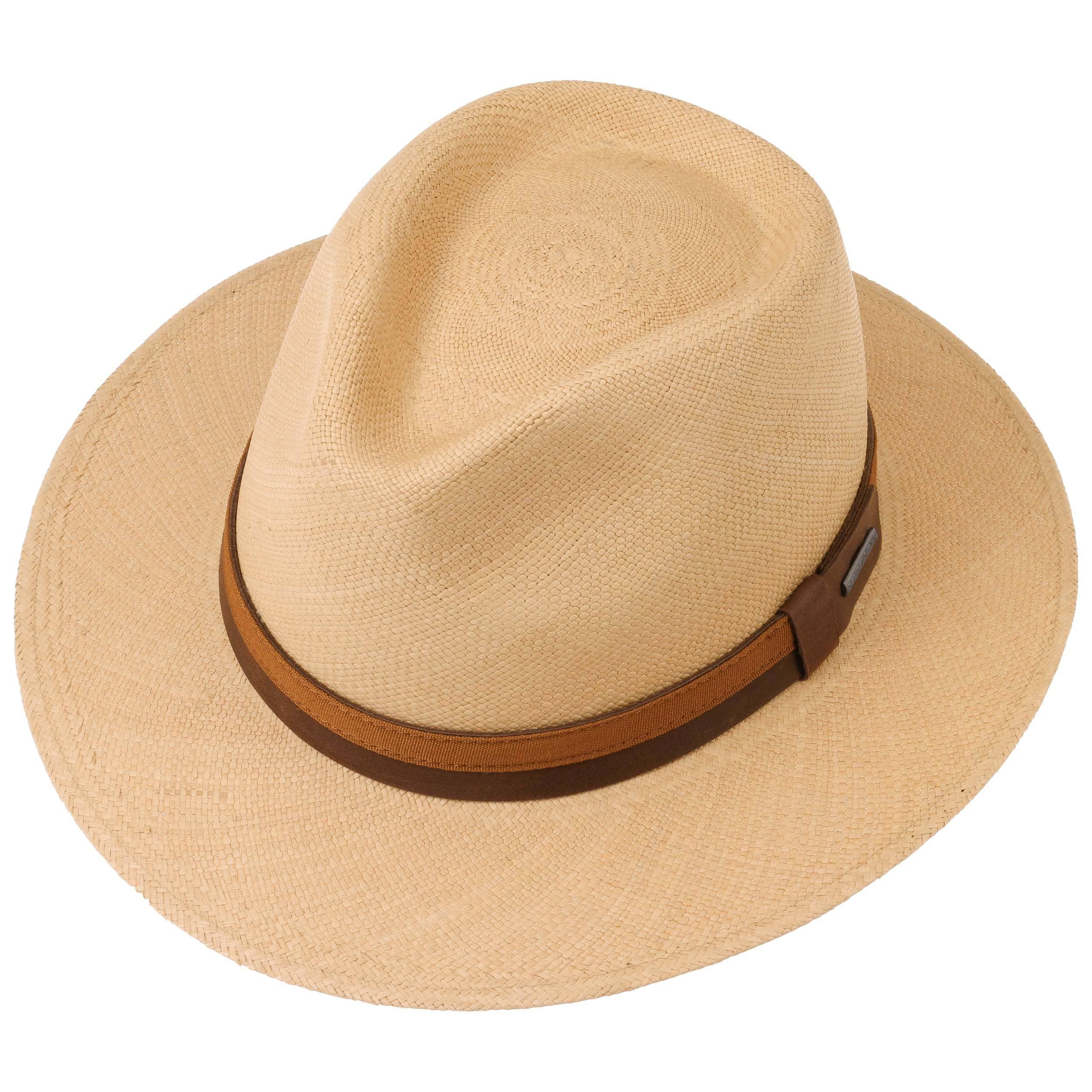 6bdfa97398f Pinecrest Panama Straw Hat by Stetson - light brown 1 ...