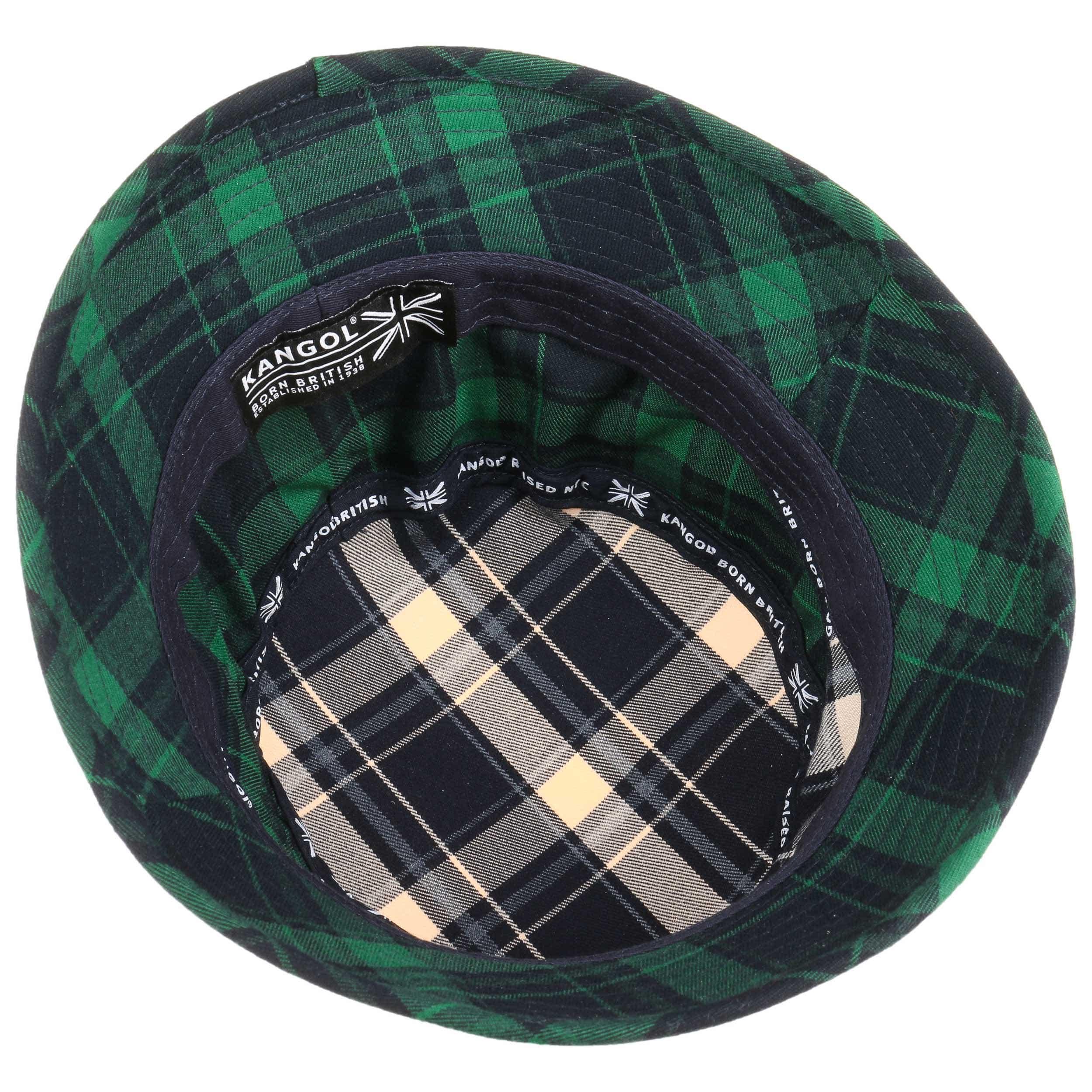 41e6e920a329a0 ... Plaid on Plaid Bucket Hat by Kangol - blue-green 2 ...