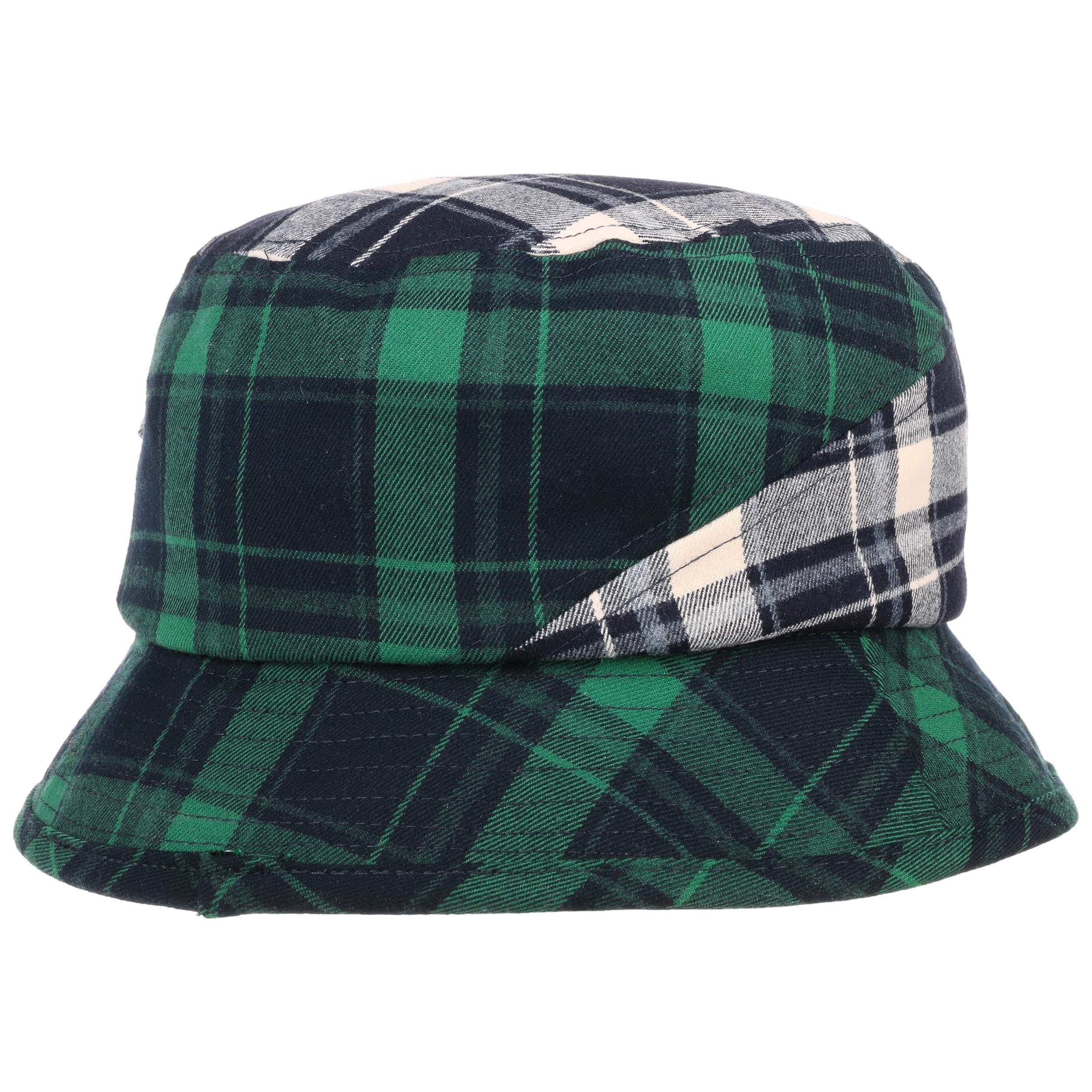 919a167a192 ... Plaid on Plaid Bucket Hat by Kangol - blue-green 3 ...