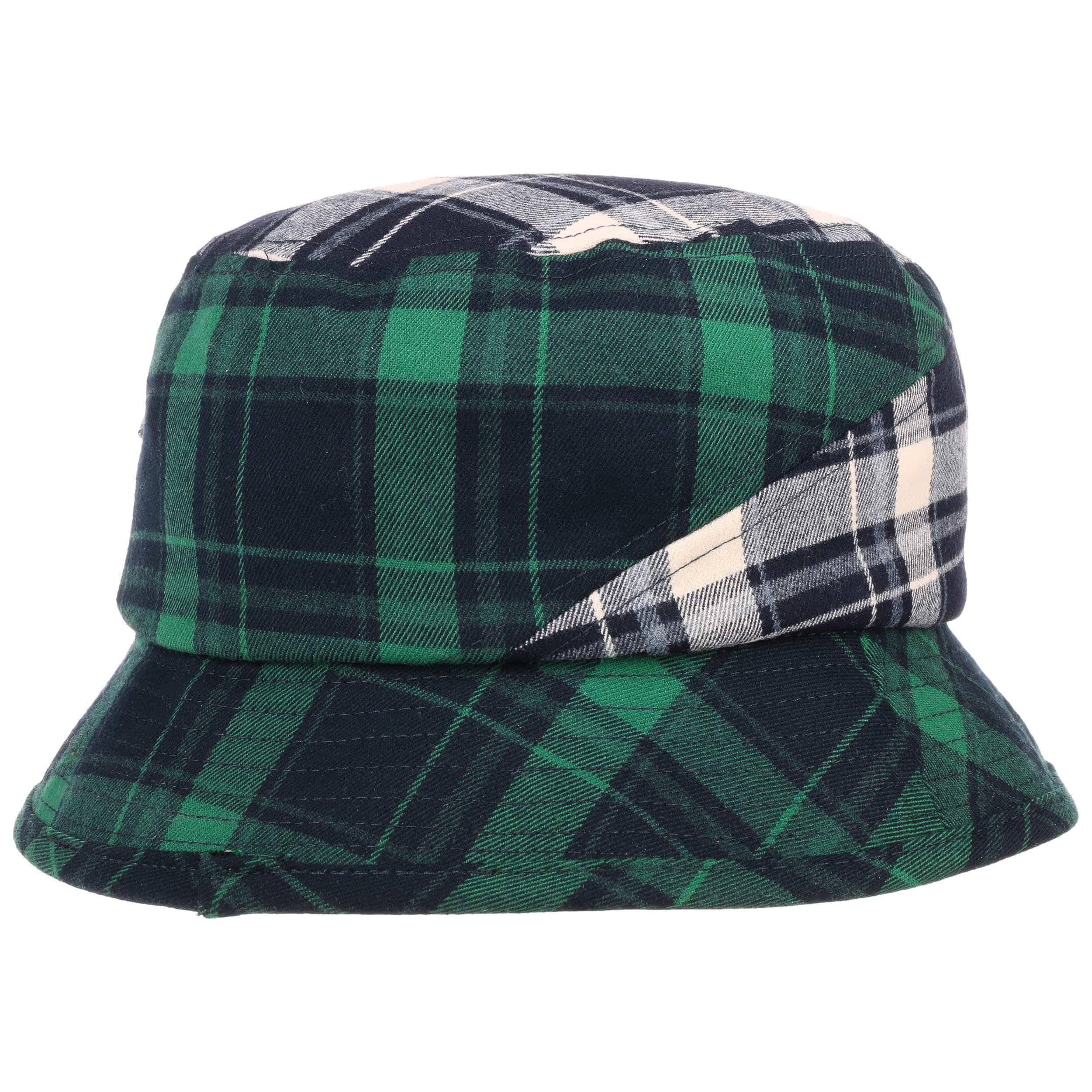 c05d2ff2937a21 ... Plaid on Plaid Bucket Hat by Kangol - blue-green 3 ...