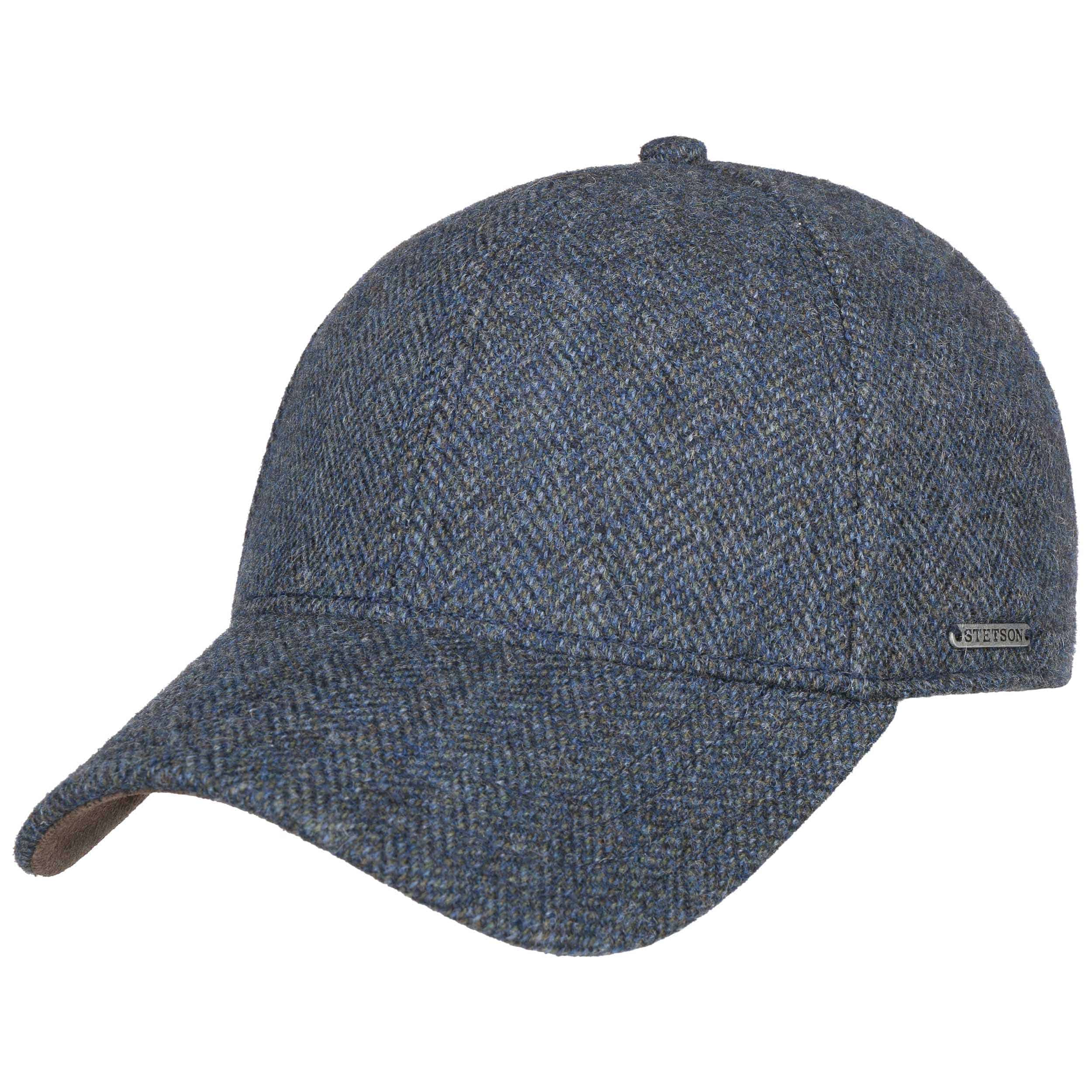 c1b64f07 ... Plano Woolrich Cap by Stetson - navy 2 ...