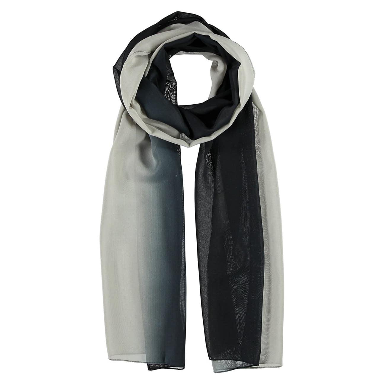 d0c798a5ba2886 ... Polyester Chiffon Scarf by Passigatti - black 1 ...