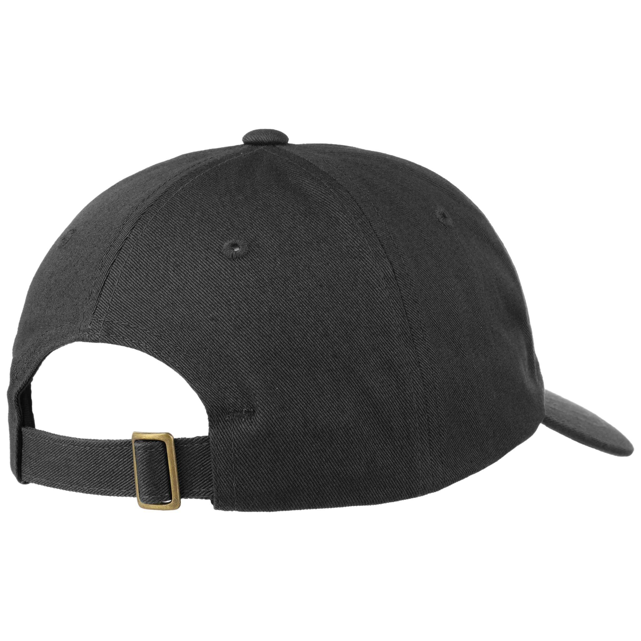 ... Portero Strapback Cap by Brixton - black 3 ... 98e294eb8a6