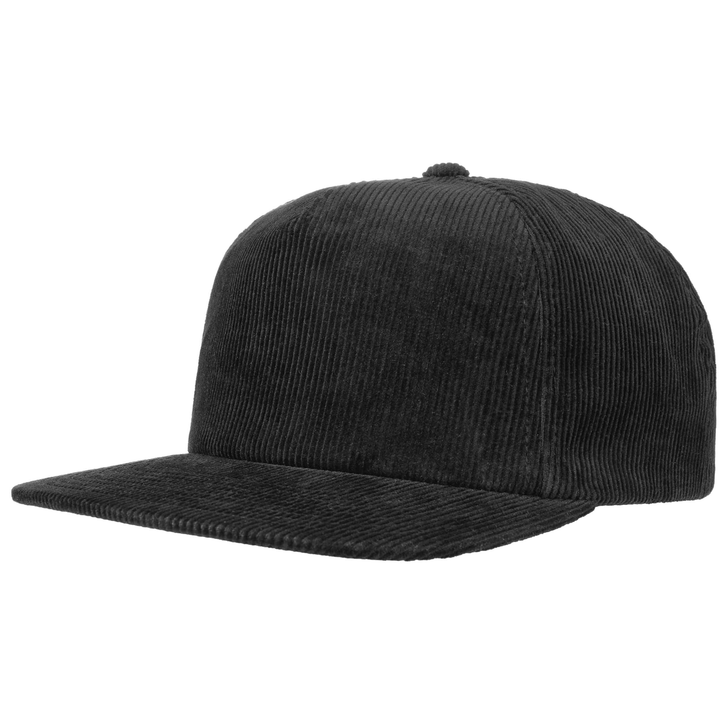 ... Premium Corduroy Snapback Cap - black 5 ab6b9c363596