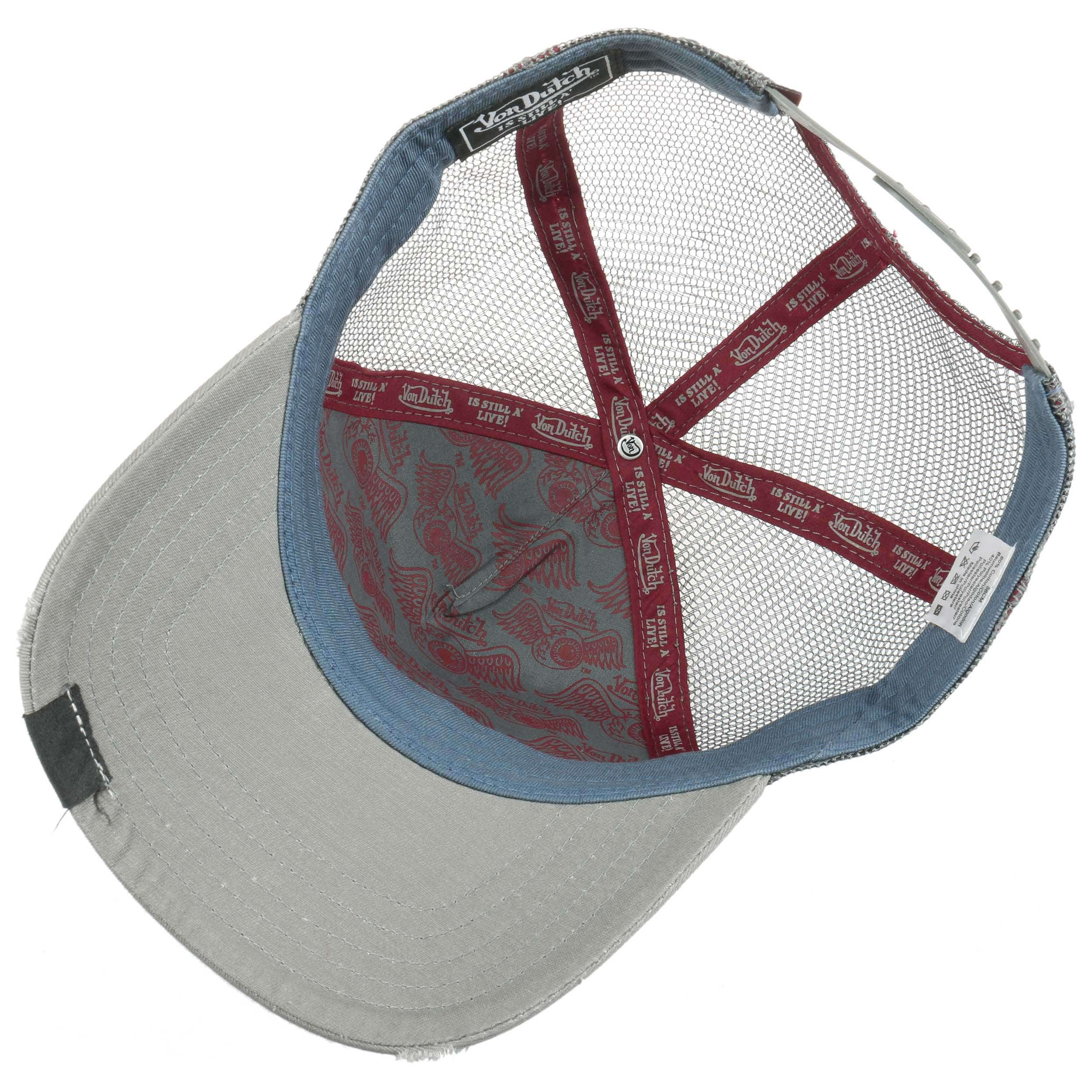 c0fc232f5d8601 ... Premium Logo Trucker Cap by Von Dutch - dark red 2 ...