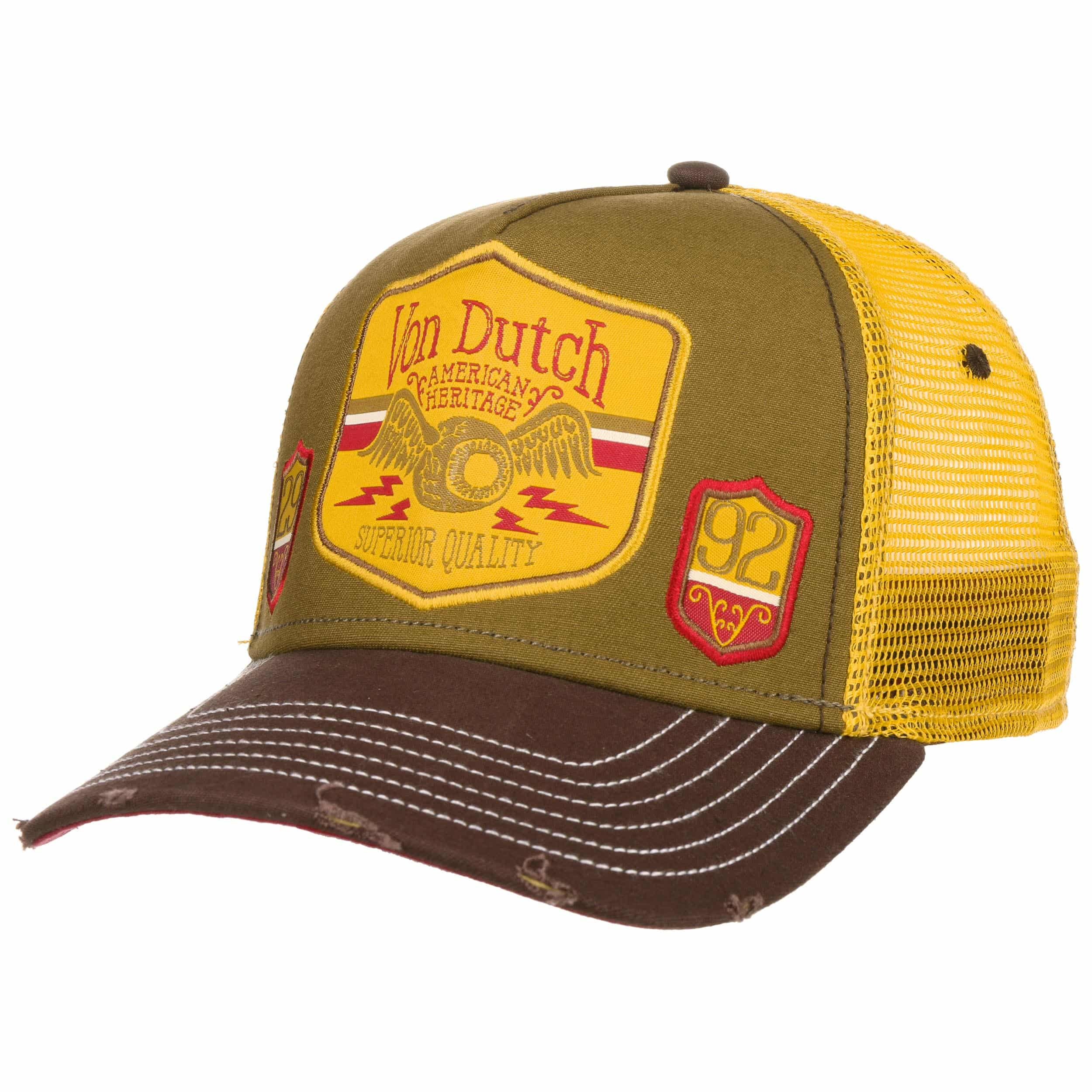 c829cfedcab8e ... Premium Trucker Cap by Von Dutch - olive 6 ...