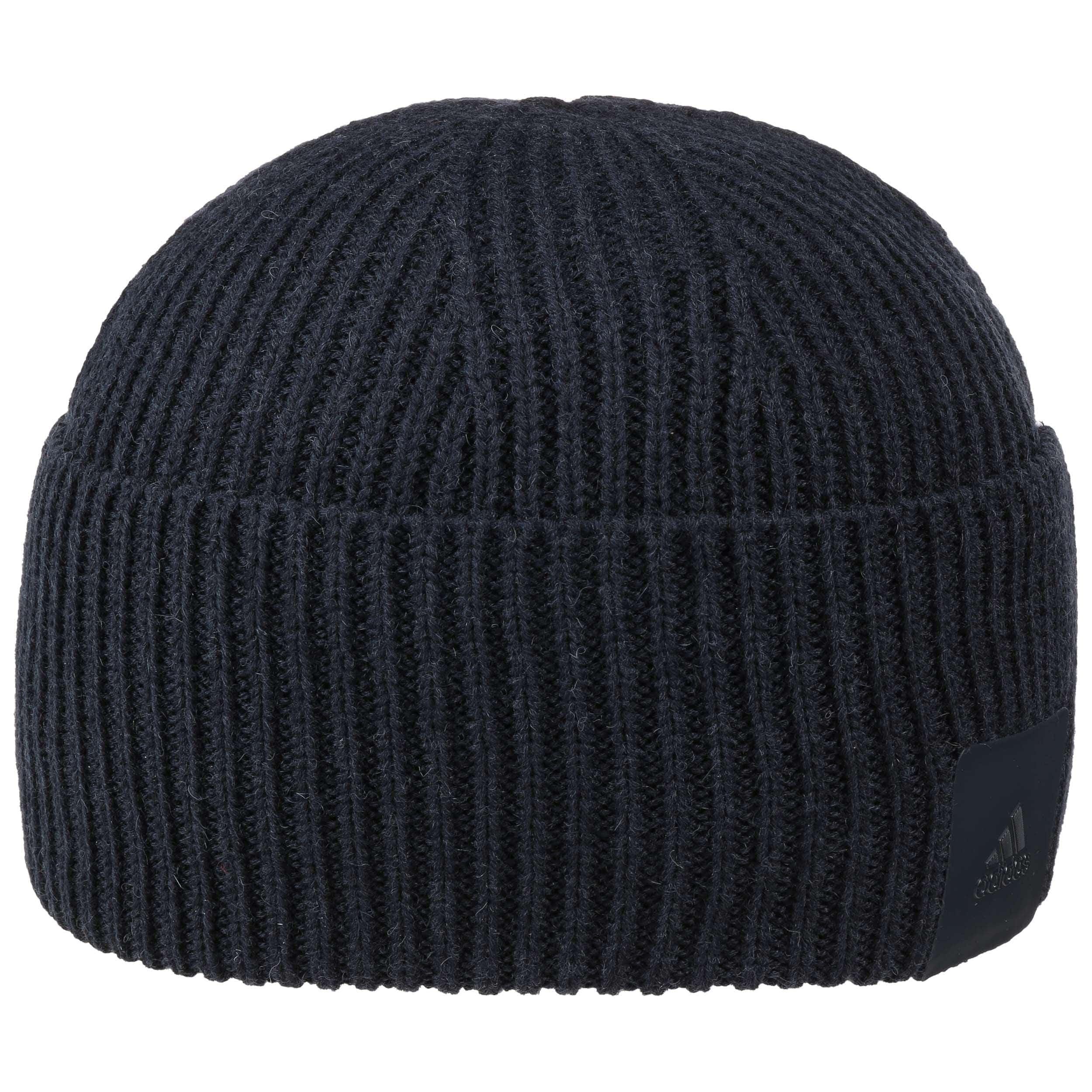 034185dd63e ... Premium Wool Beanie Hat by adidas - navy 4 ...