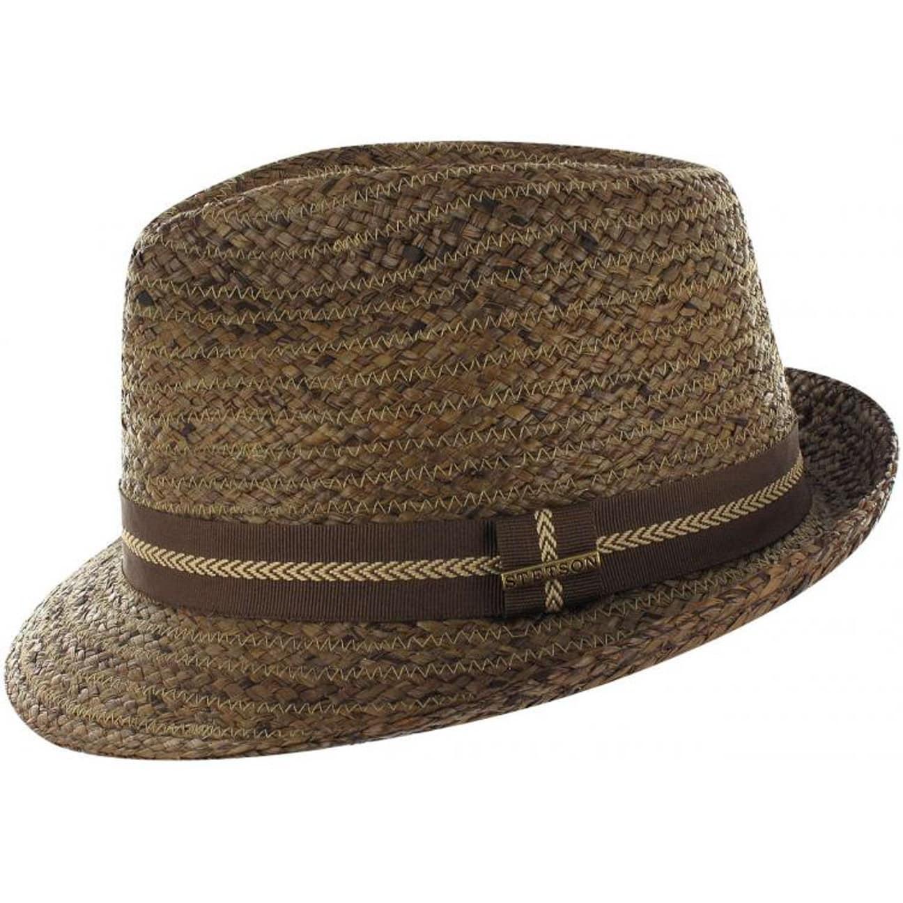 Pulaski Raffia Straw Trilby by Stetson - brown 1 ... 4528241683a