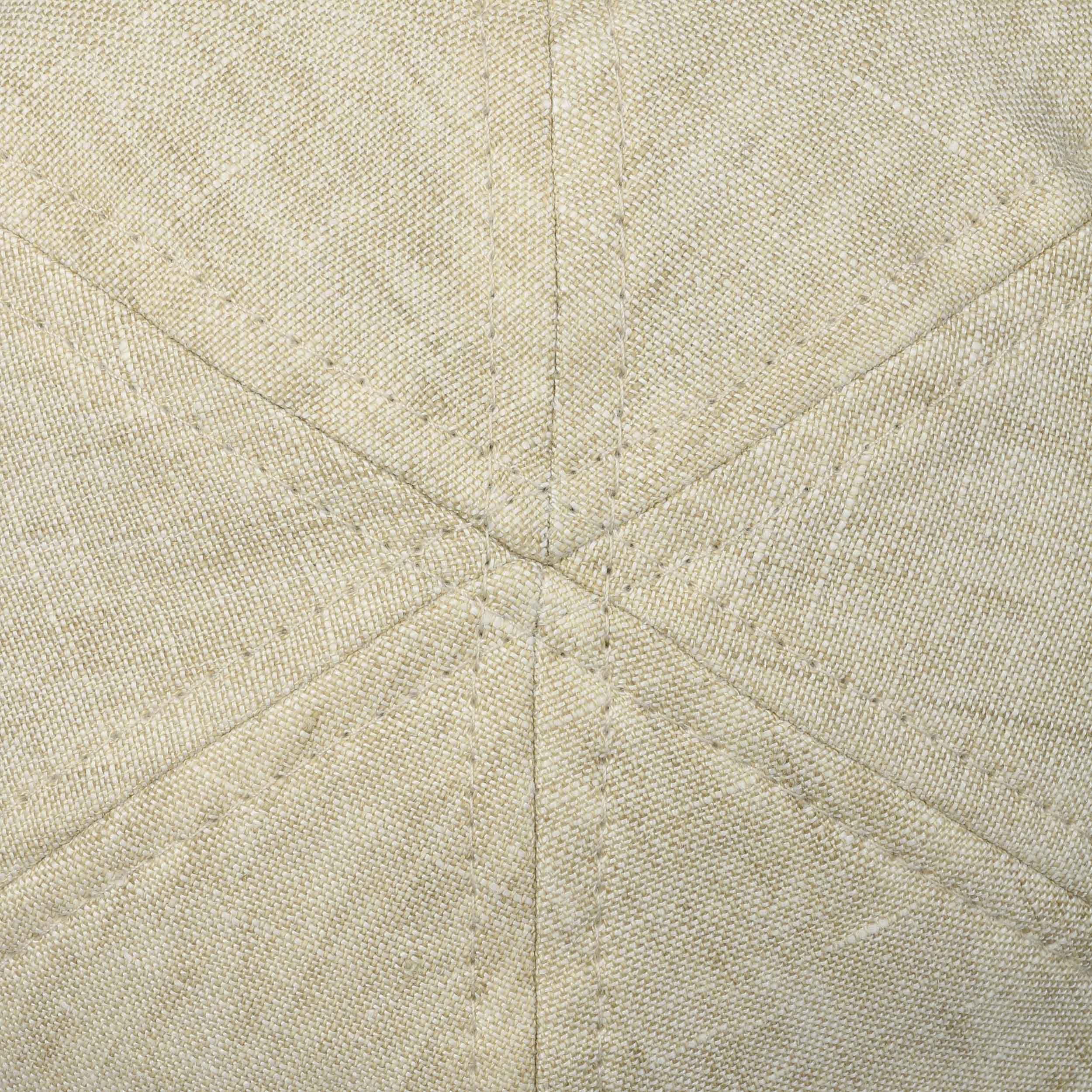 4390e90beb595 ... Putnam Linen Gatsby Cap by Stetson - beige 4 ...