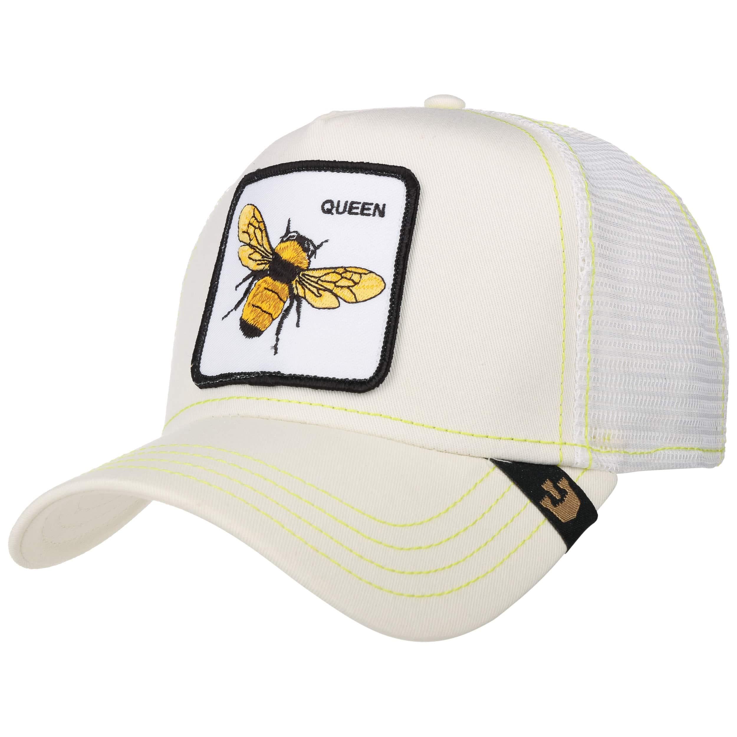 761c3aa424926f white 4 · Queen Bee Trucker Cap by Goorin Bros. - white 5