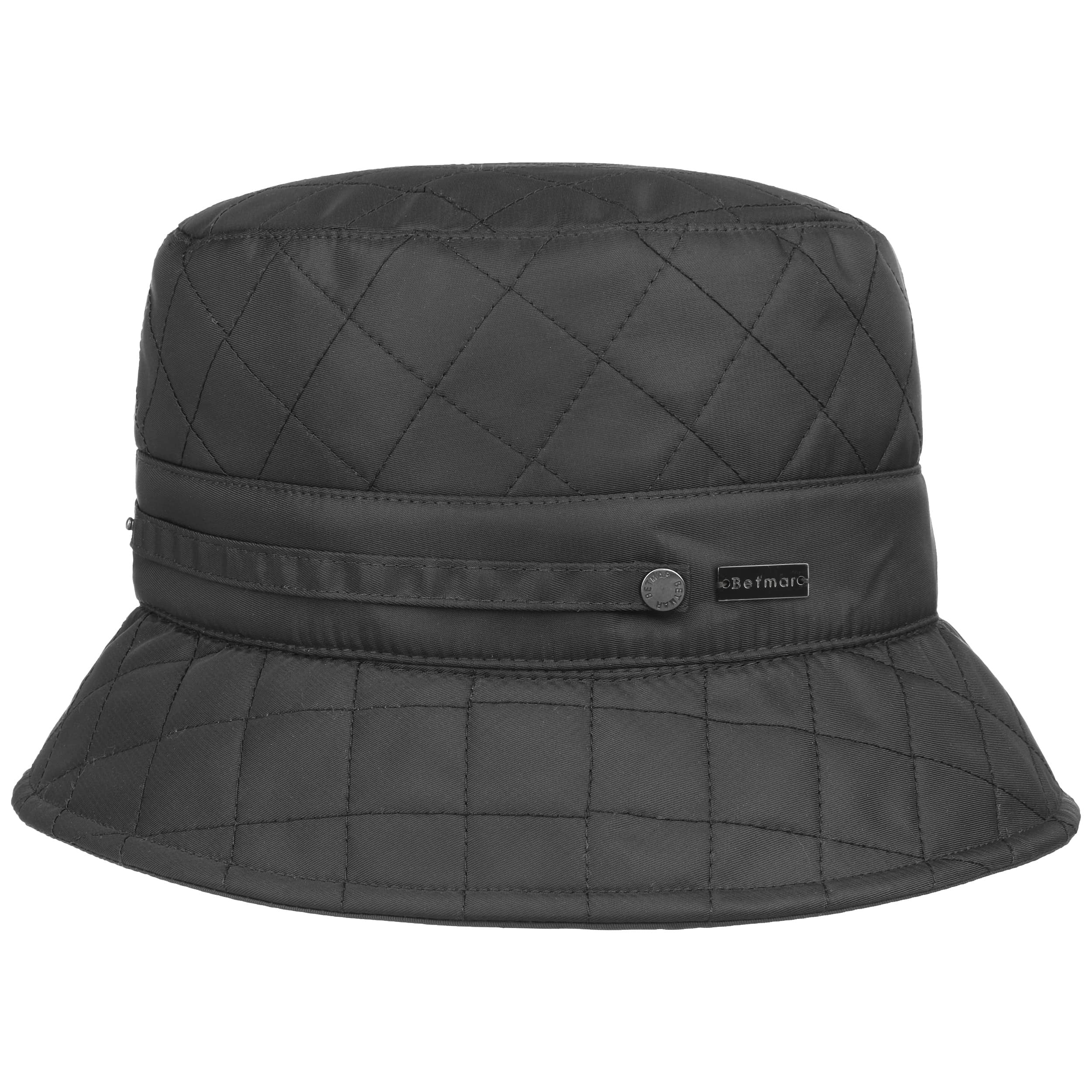 f0ac052567e ... Quilted Bucket Hat by Betmar - black 5