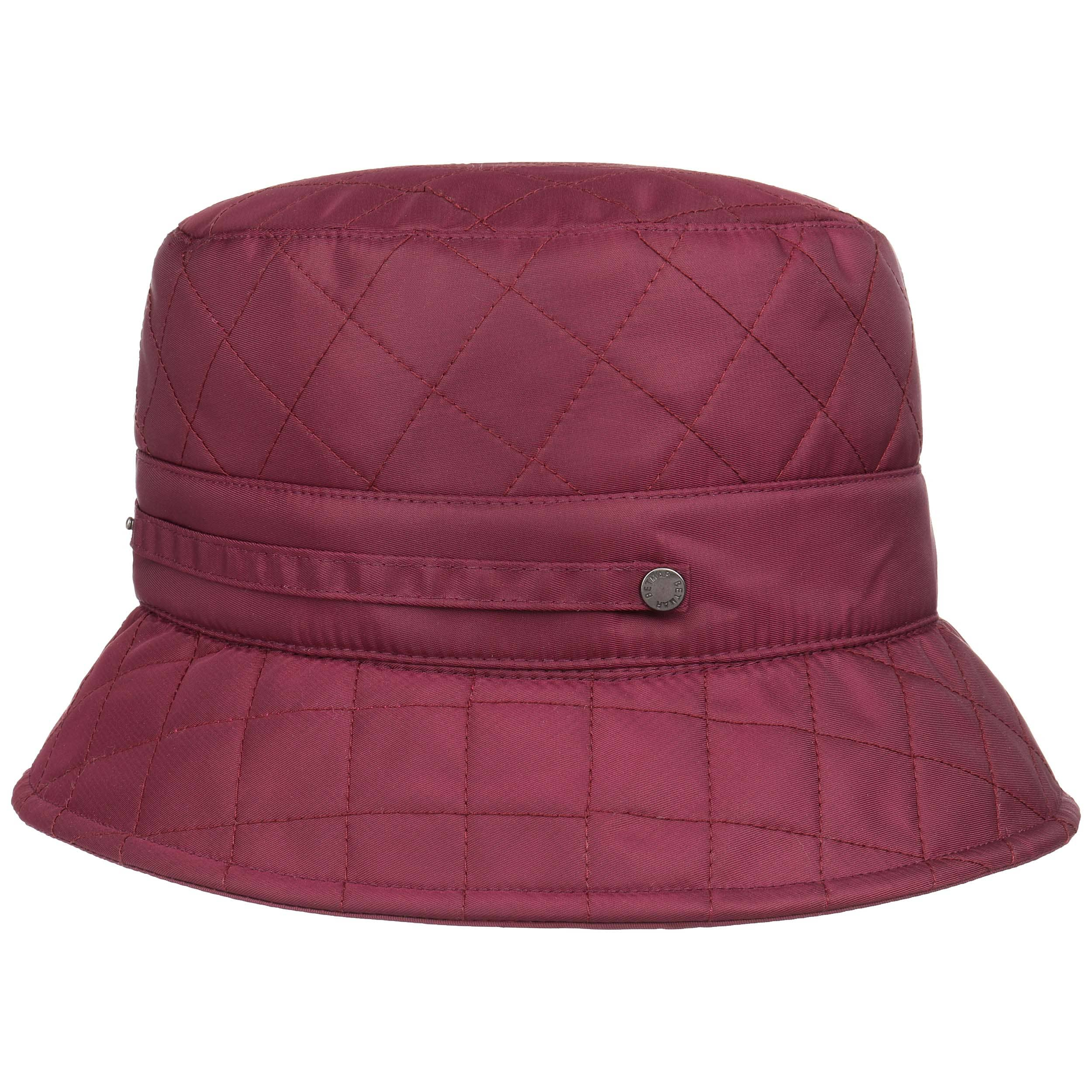 feeb97f02804b ... Quilted Bucket Hat by Betmar - black 5