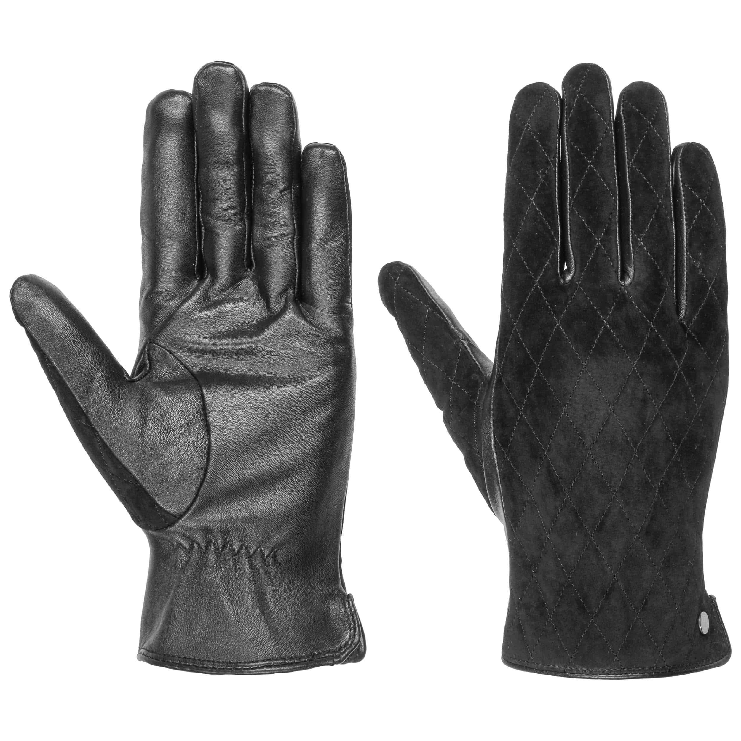 34e79a6b11fdd3 ... Quilted Touch Damen Lederhandschuhe by Roeckl - schwarz 4
