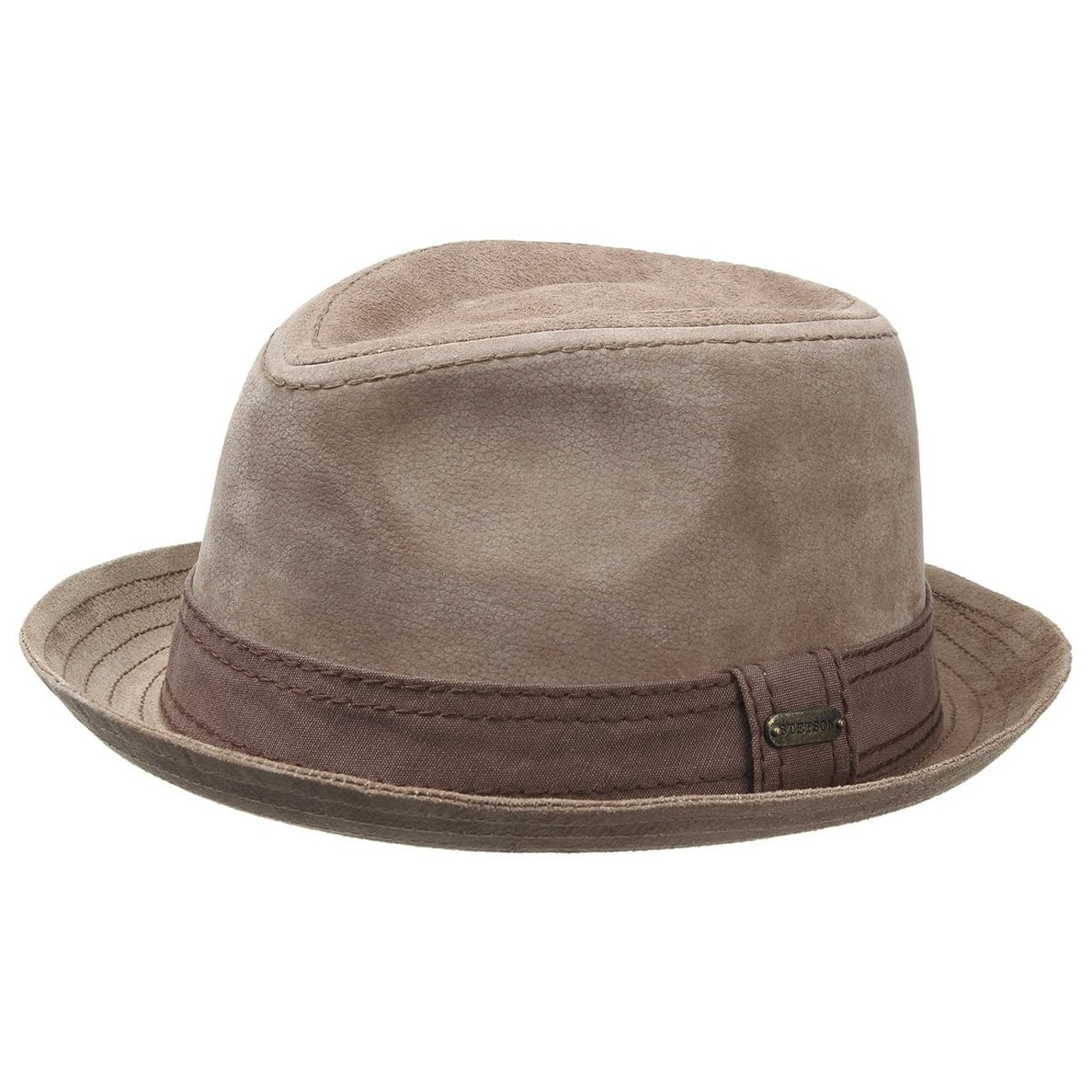0b6ede20897 ... Radcliff Leather Player by Stetson - beige 1 ...