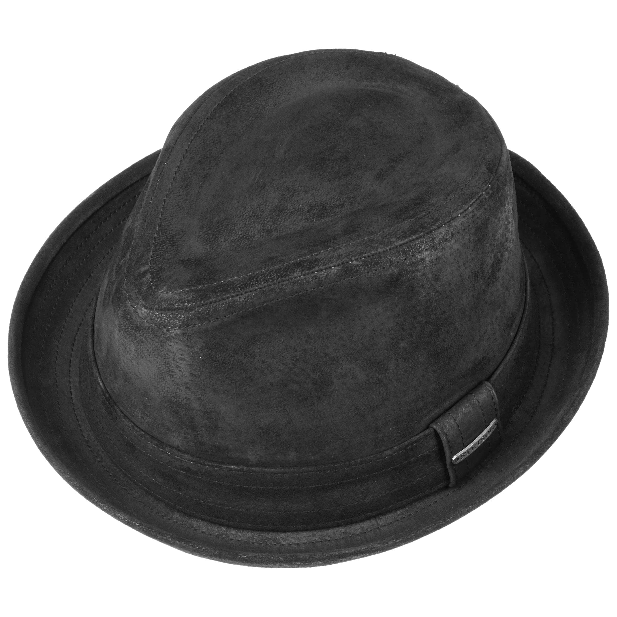 68bde0bd10c3b Radcliff Leather Player by Stetson - black 1 ...