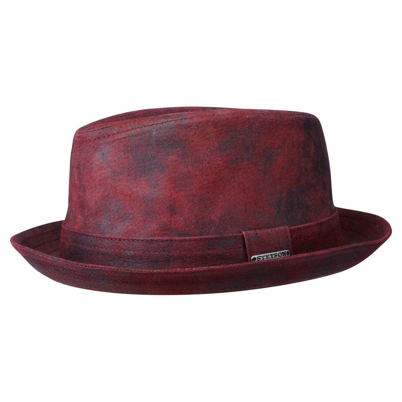 047aa8b9d9769 ... Radcliff Leather Player by Stetson - bordeaux 1 ...