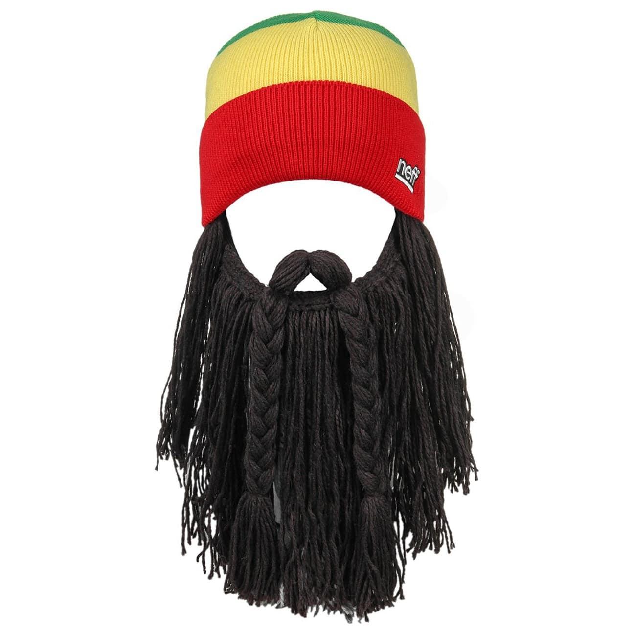 fe1affdf5 Rasta Bunyan Knit Hat with Cuff by neff