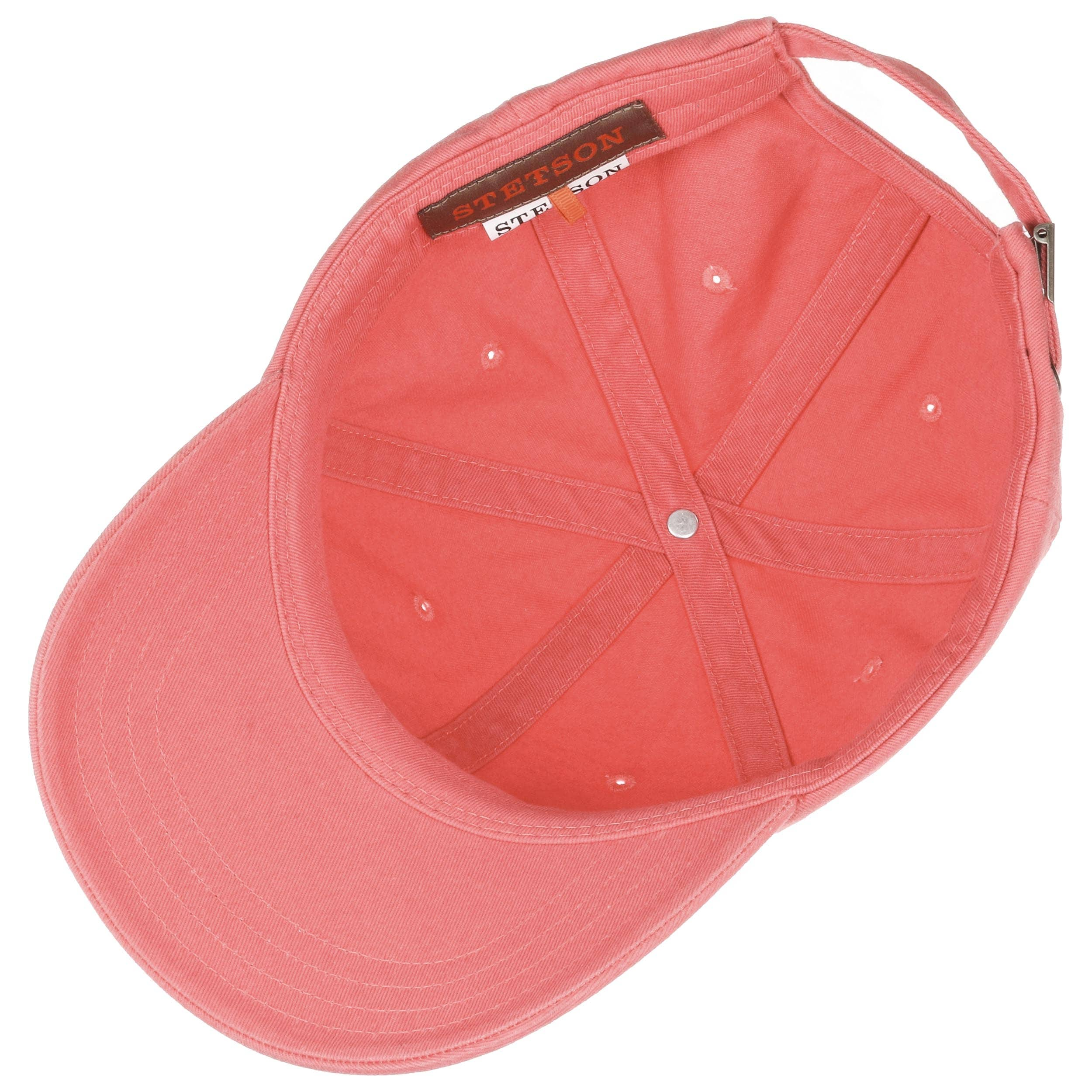 ... Rector Baseball Cap by Stetson - coral 2 ... 301b0a84550