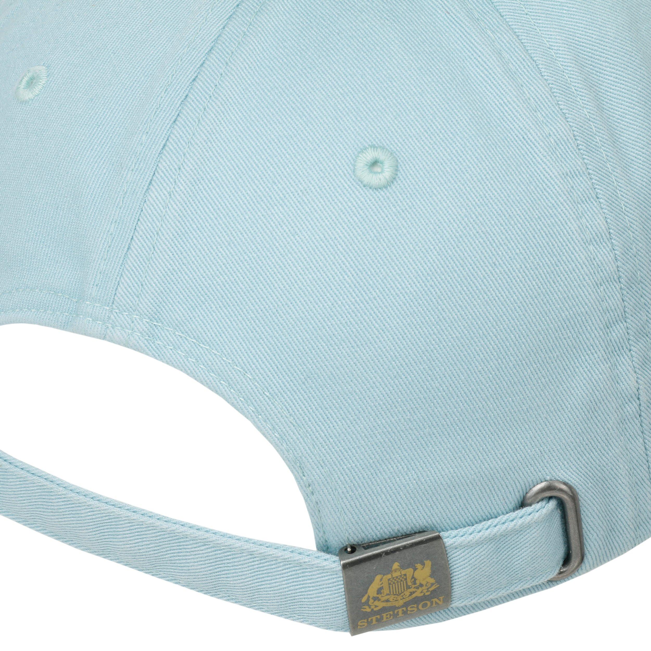 d50535a116f39 ... Rector Baseball Cap by Stetson - light blue 3 ...