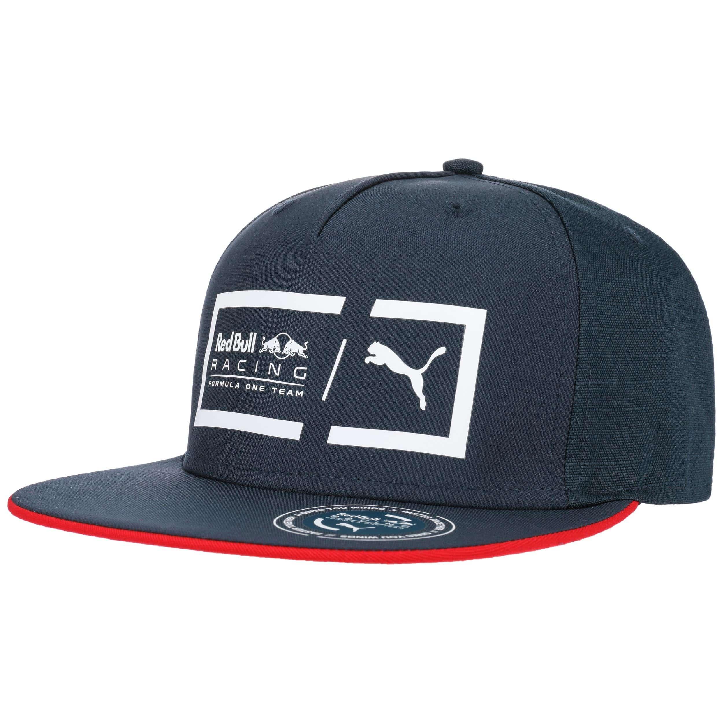red bull racing flat brim cap by puma gbp 27 95 hats. Black Bedroom Furniture Sets. Home Design Ideas