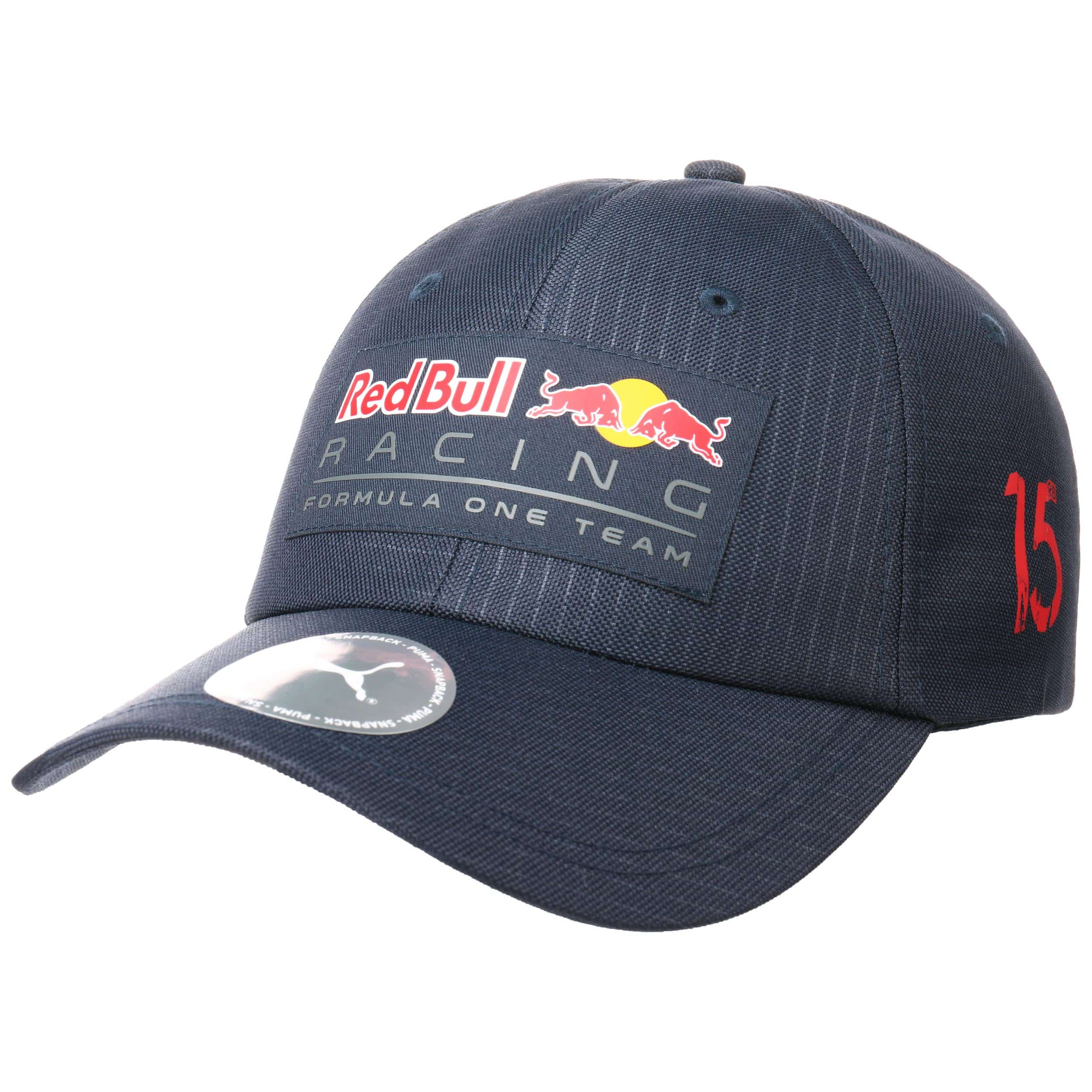 Red Bull Racing Lifestyle Curved Cap by PUMA