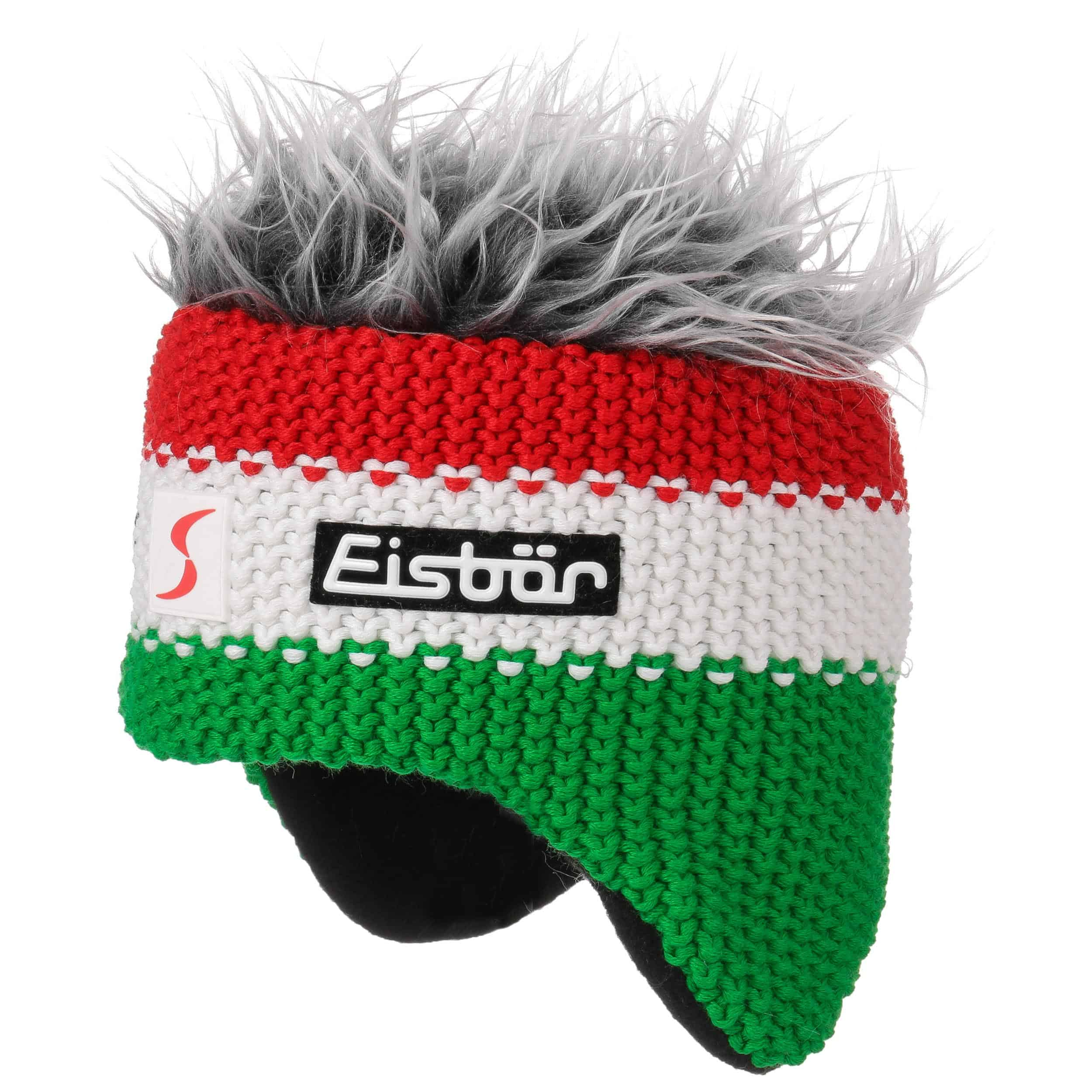 55d11d894 Red-Green Cocker Ski Hat by Eisbär