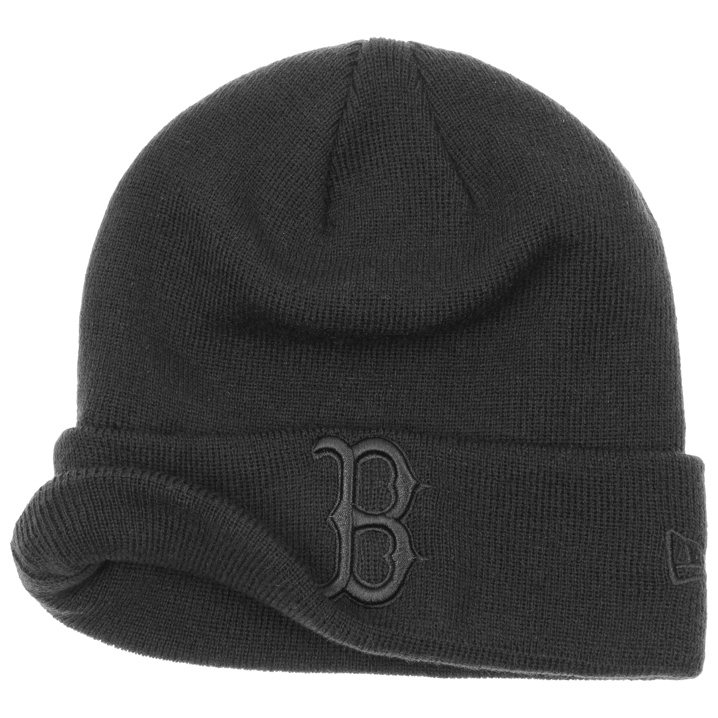 6f7856d9c49 Red Sox Beanie with Cuff by New Era - black 1 ...