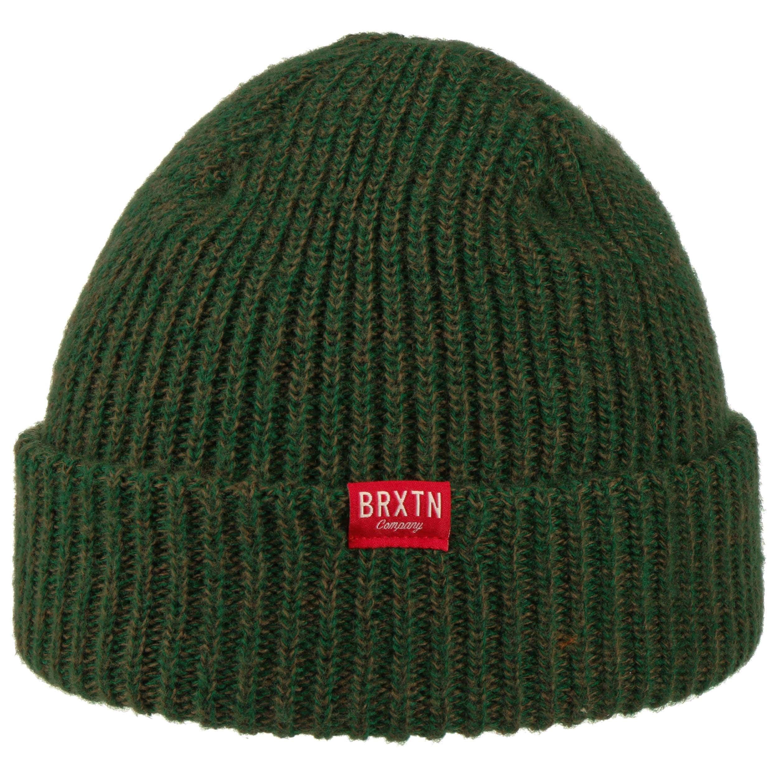 9c81b45b ... Redmonds Beanie Hat by Brixton - dark green 3 ...