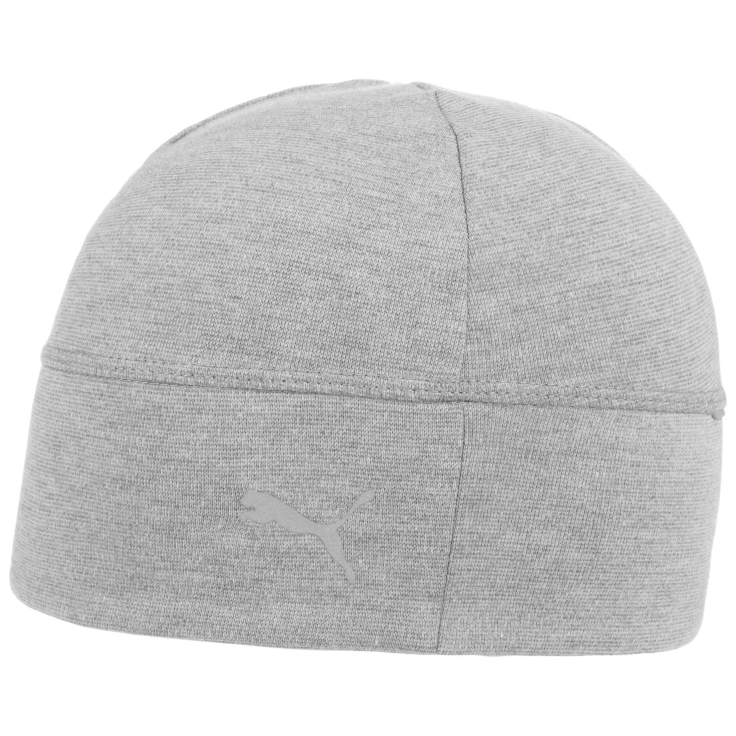 ... Reflective Running Beanie Hat by PUMA - grey-mottled 3 6e54c6c808a