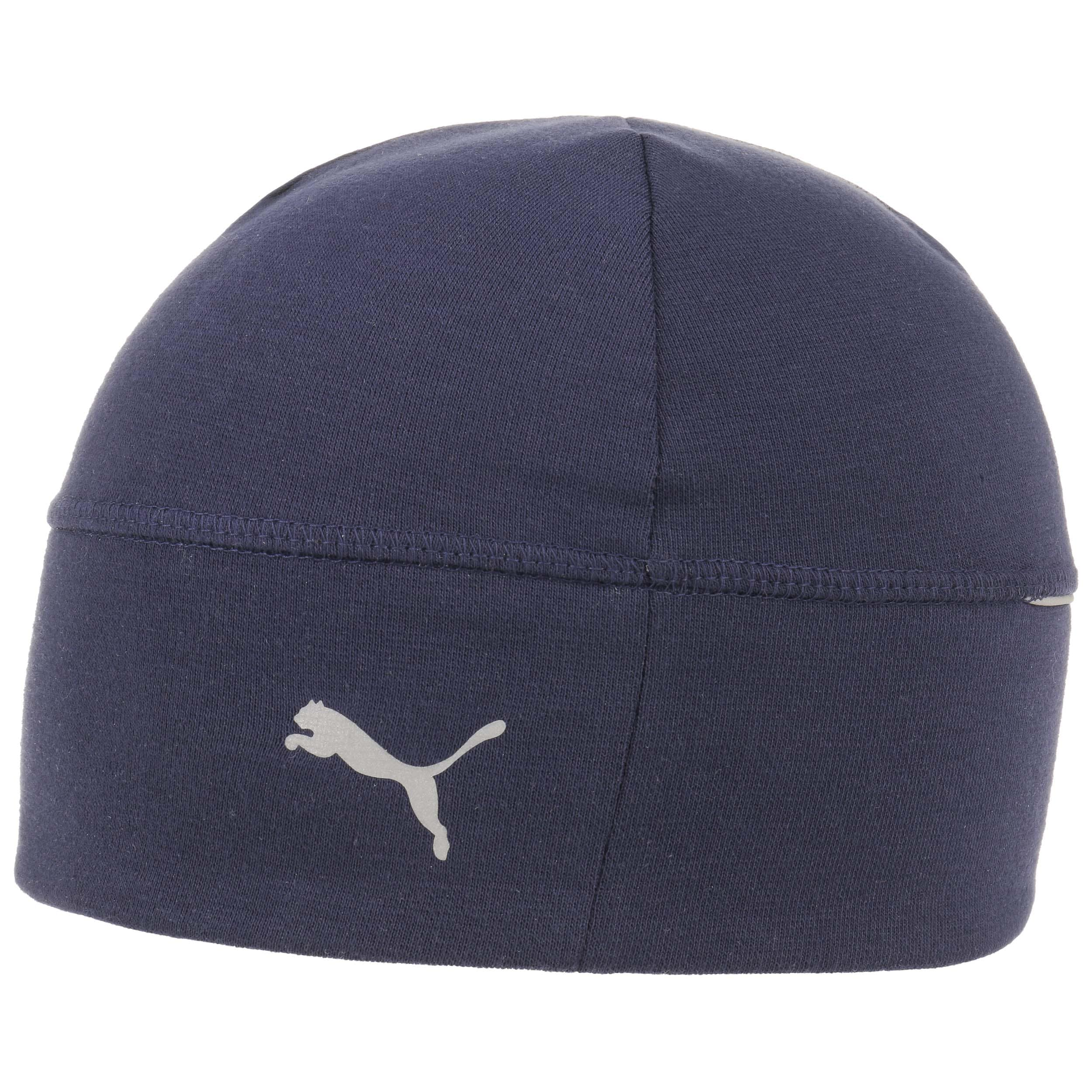 ... Reflective Running Beanie Hat by PUMA - navy 3 ... 766385c933e