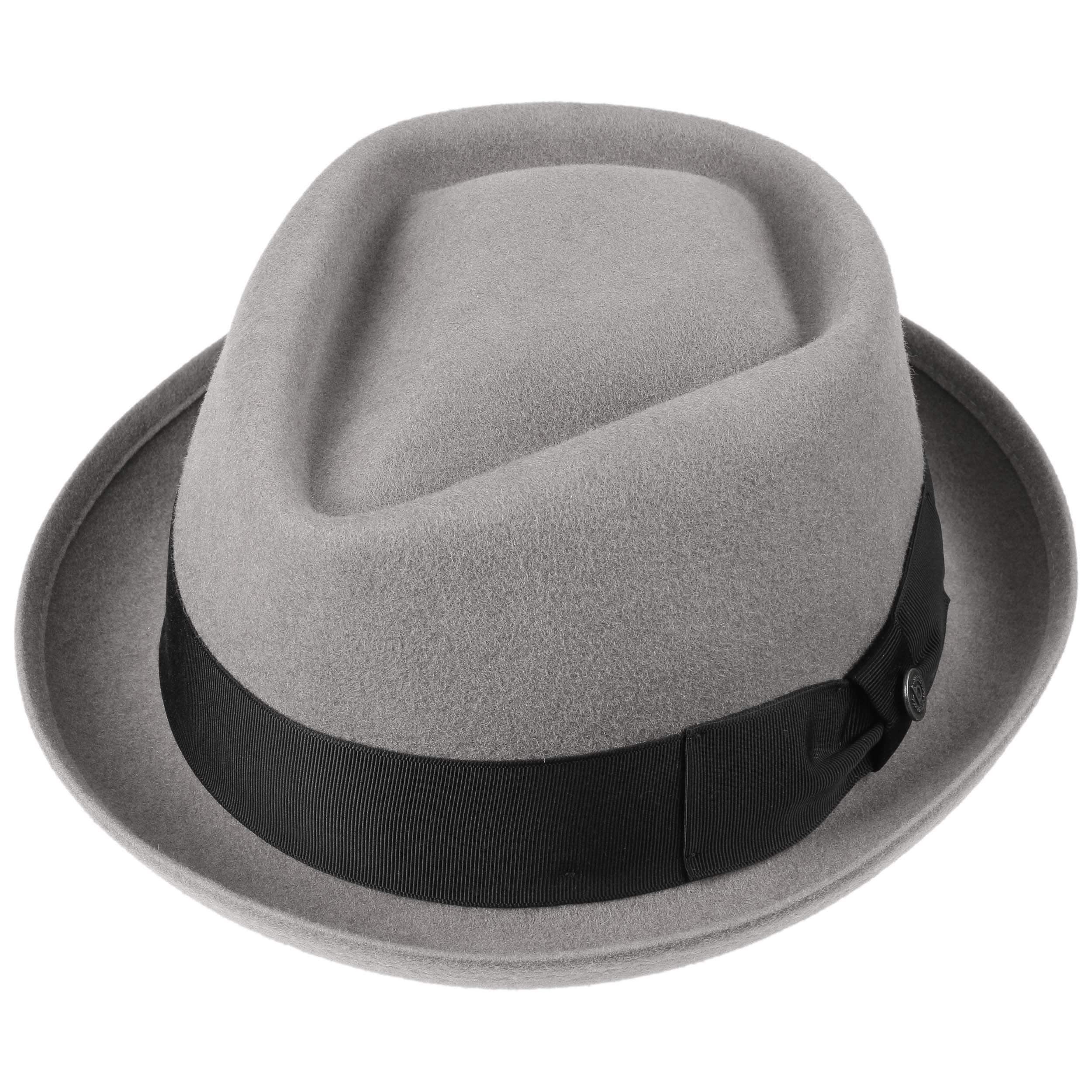 65757efd17c Reighsbury Porkpie Hat by bugatti - grey 1 ...